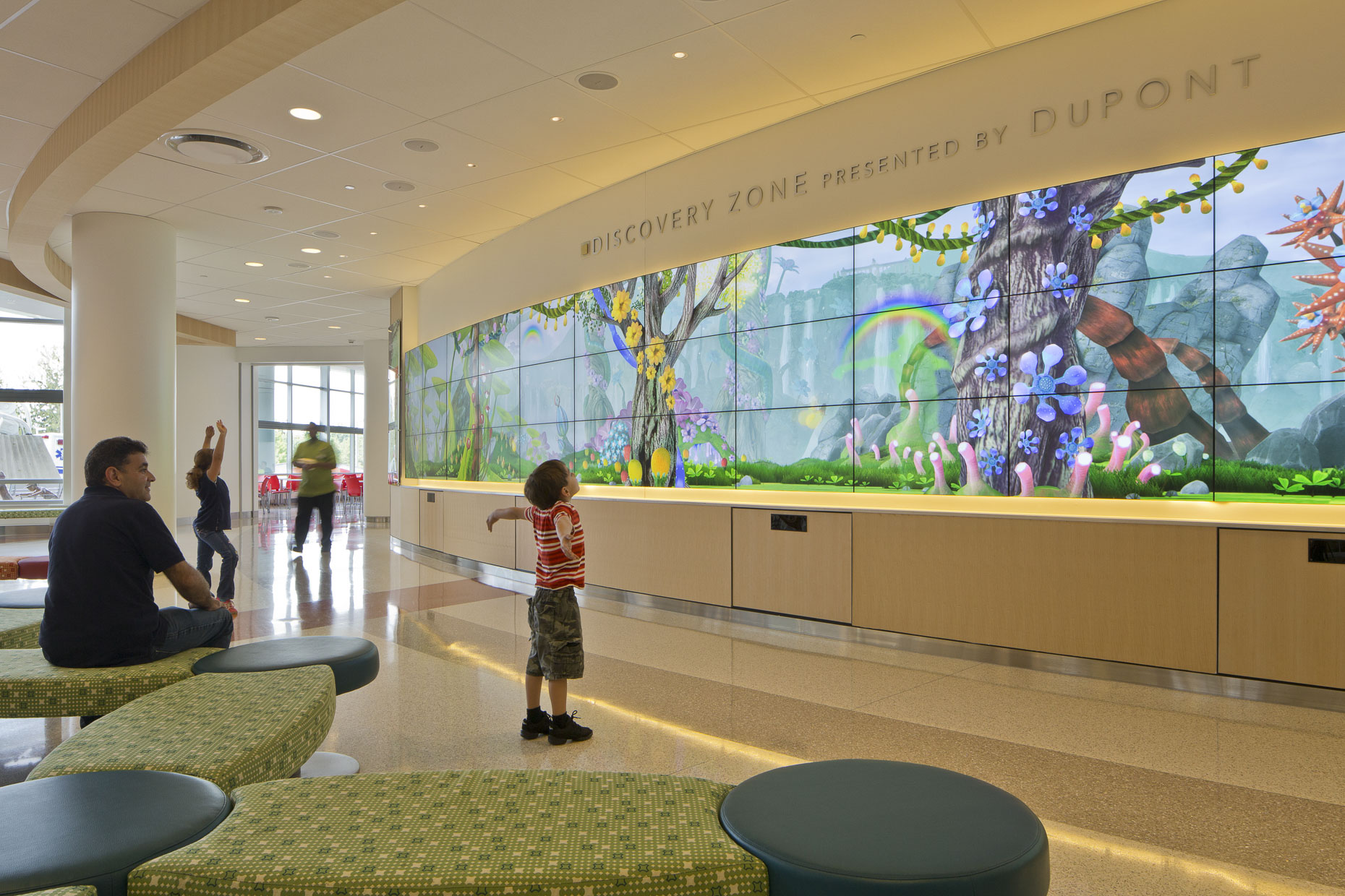 Nemours - Alfred I DuPont Hospital for Children by FKP Architects Photographed by Brad Feinknopf based in Columbus, Ohio