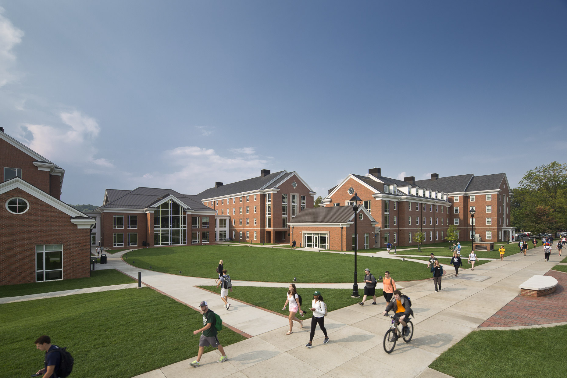 Ohio University Student Housing by Corna-Kokosing photographed by BRad Feinknopf based in Columbus, Ohio