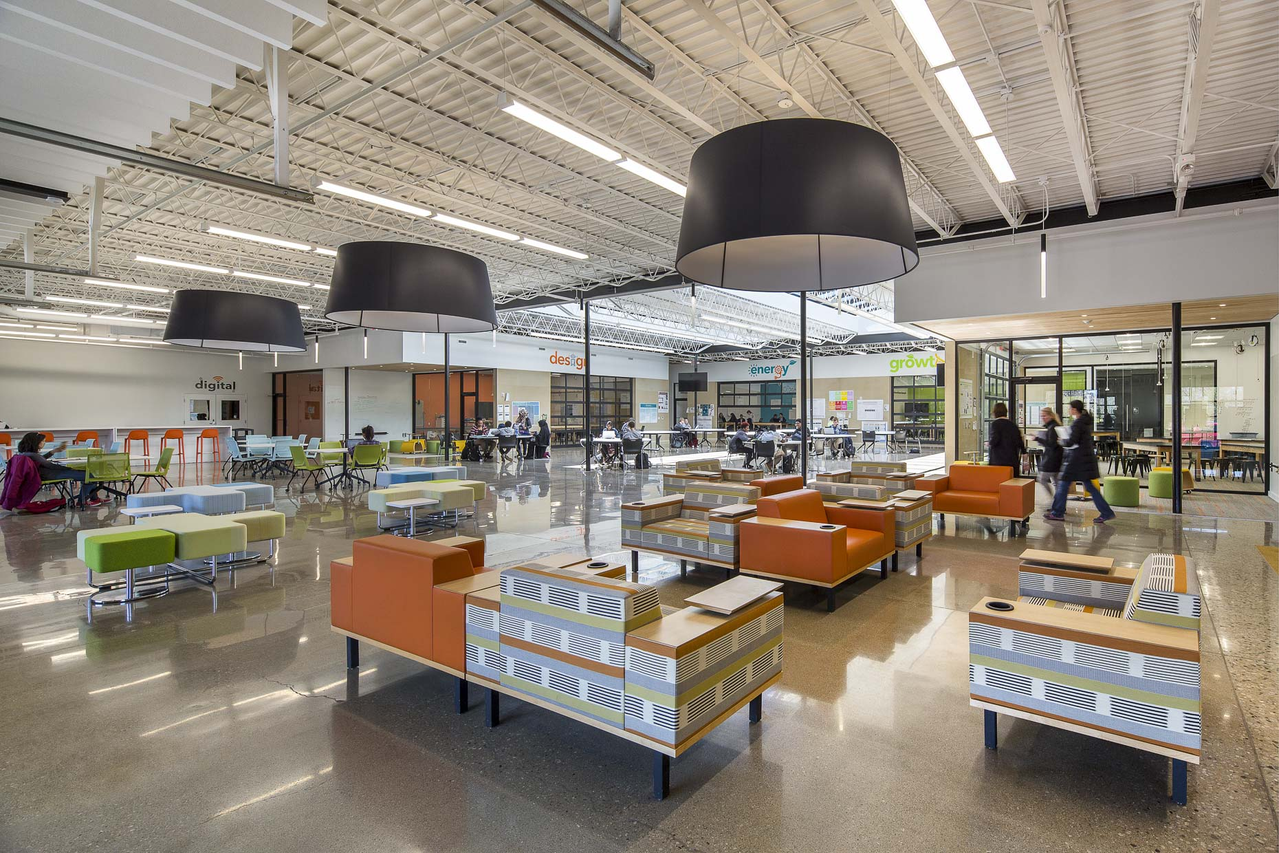 Past Innovation Lab by WSA Studio photographed by BRad Feinknopf based in Columbus, Ohio
