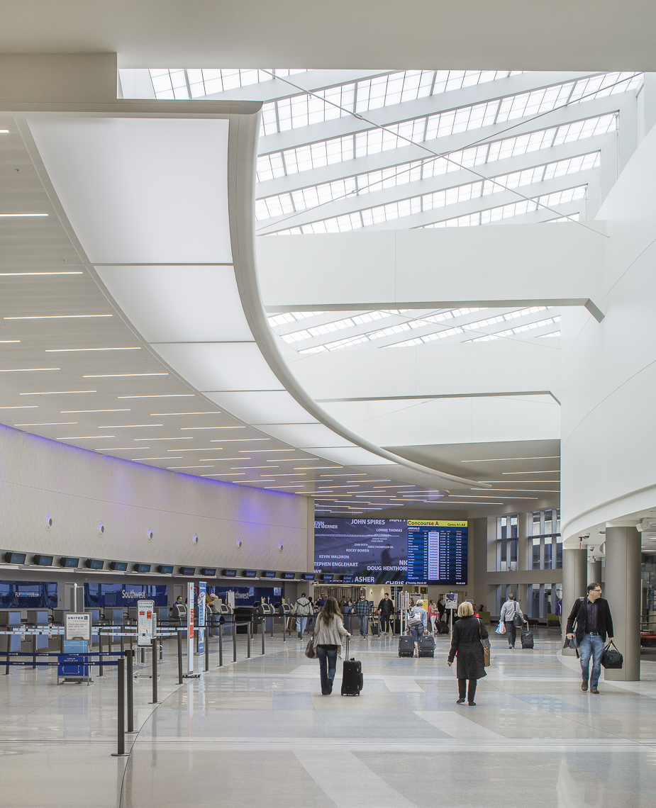 John Glenn International Airport Revitalization • CMH • Columbus, Ohio • Turner Construction