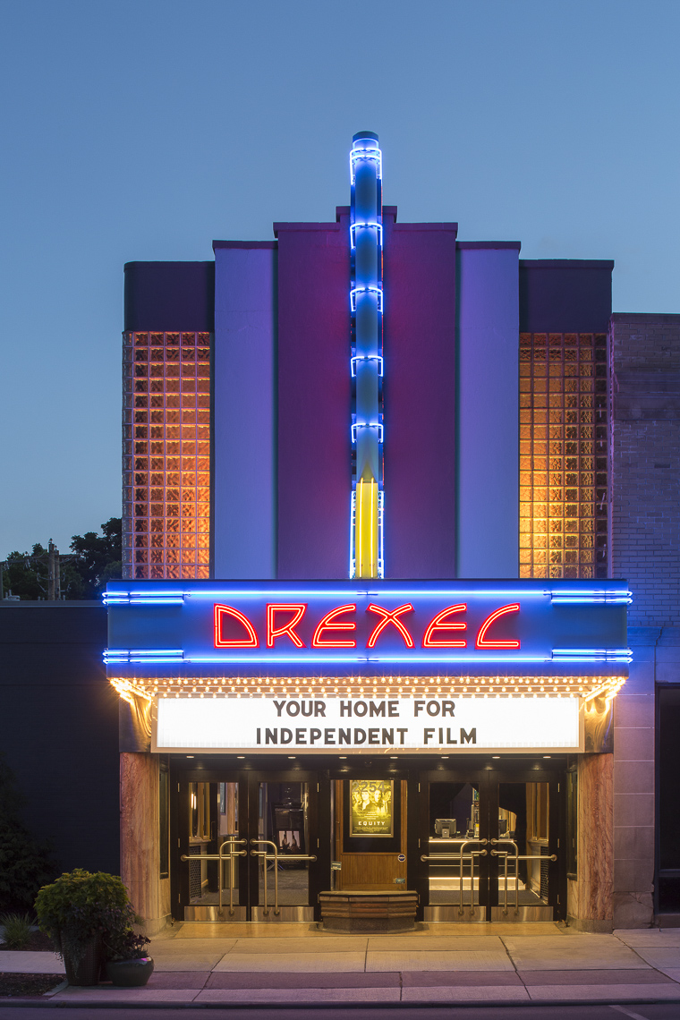 Drexel Theater by M+A Architects photographed by Brad Feinknopf based in Columbus, Ohio