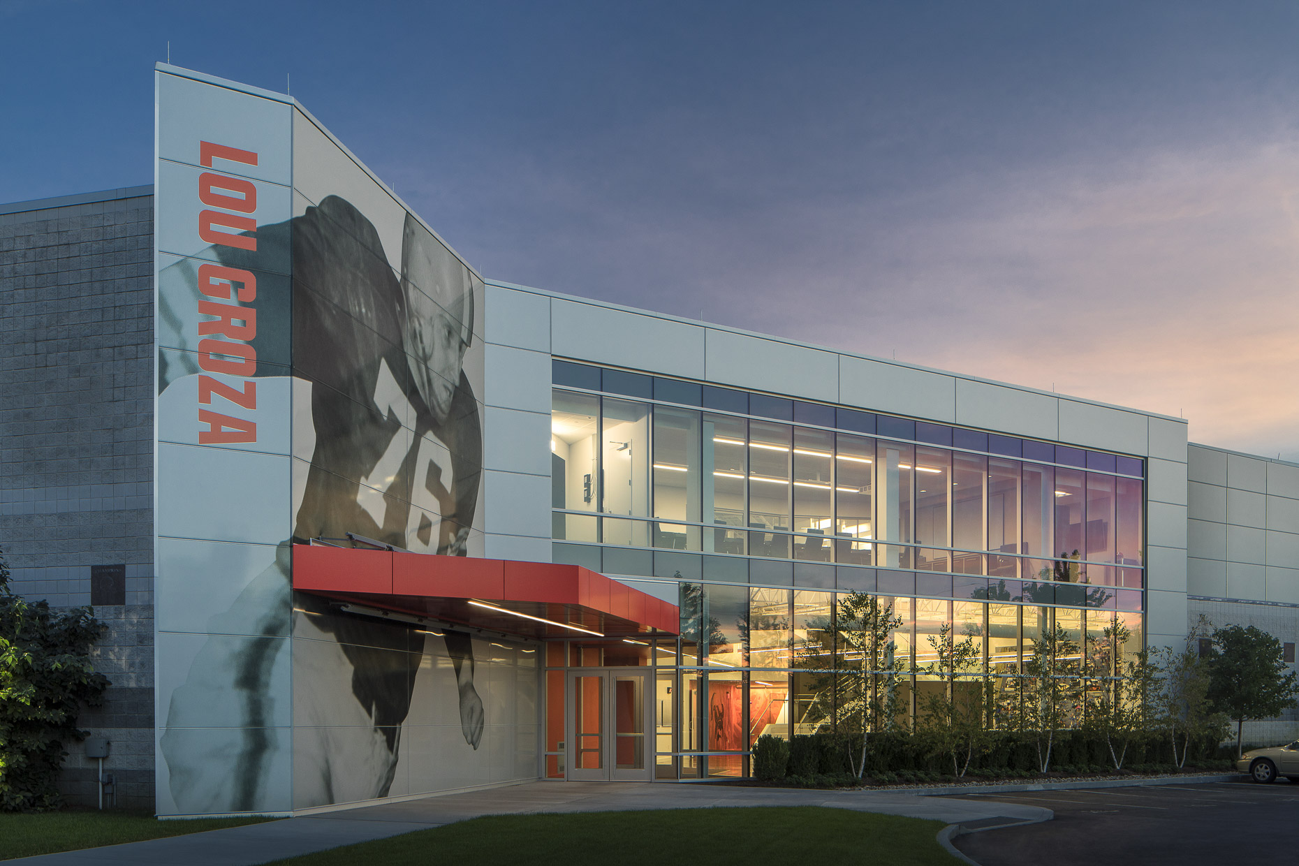 Cleveland Browns Headquarters Training Facility by Vocon photographed by Brad Feinknopf based in Columbus, Ohio