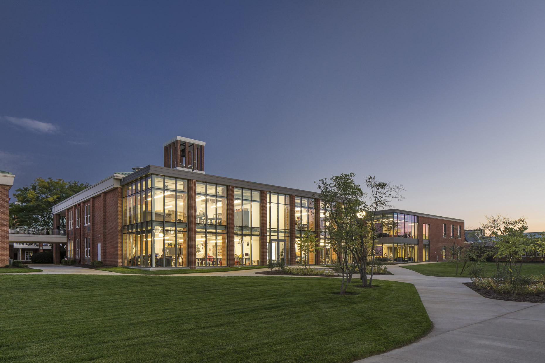 Columbus Academy by The Collaborative photographed by Brad Feinknopf based in Columbus, Ohio