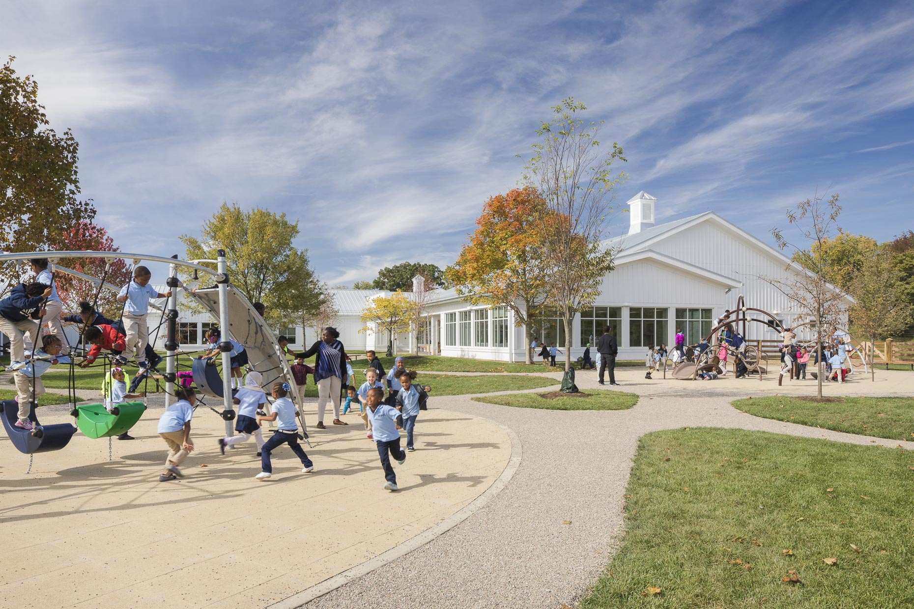 KIPP Columbus Charter School by Moody Nolan photographed by Brad Feinknopf based in Columbus, Ohio