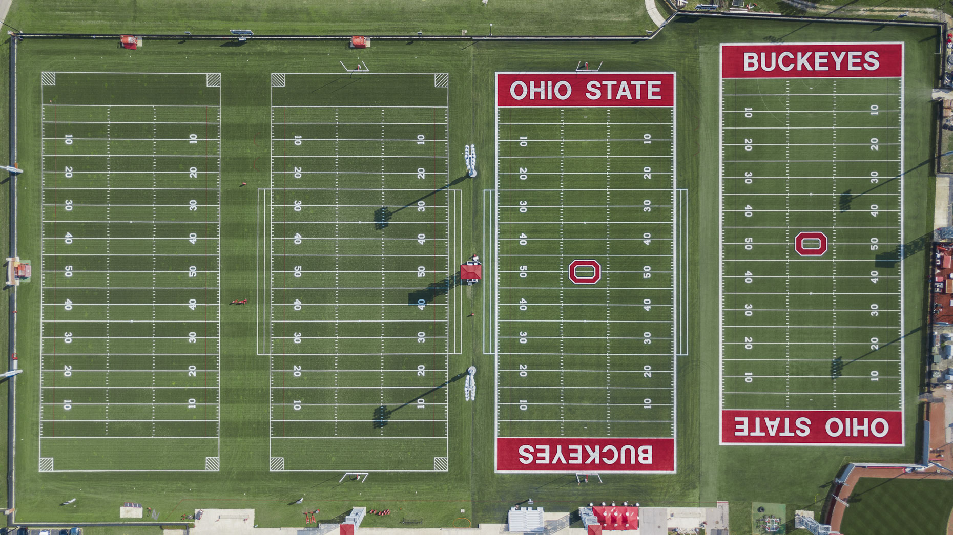 OSU Athletic Fields by GBBN photographed by Brad Feinknopf