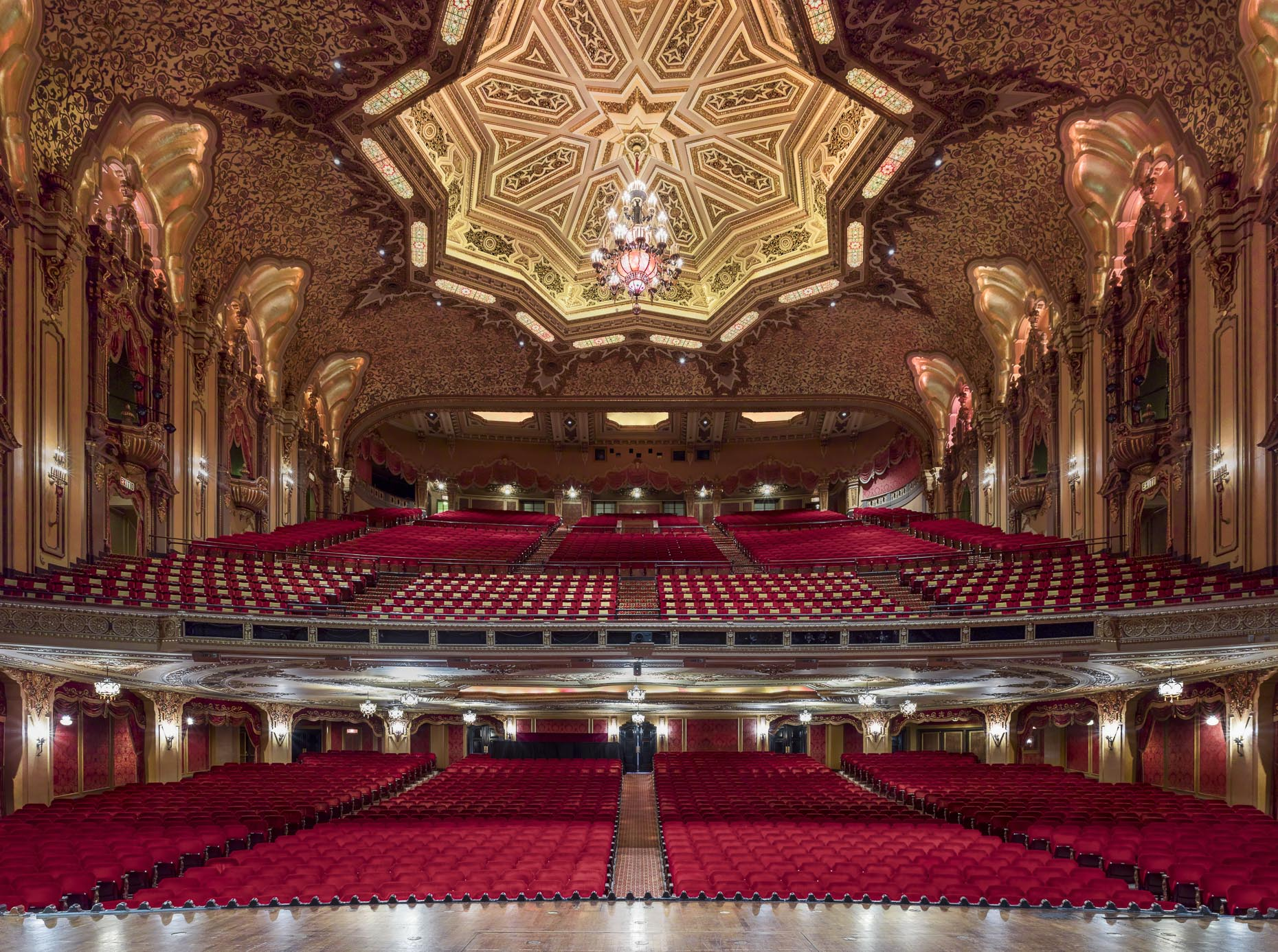 Ohio Theater for CAPA photographed by Brad Feinknopf based in Columbus, Ohio