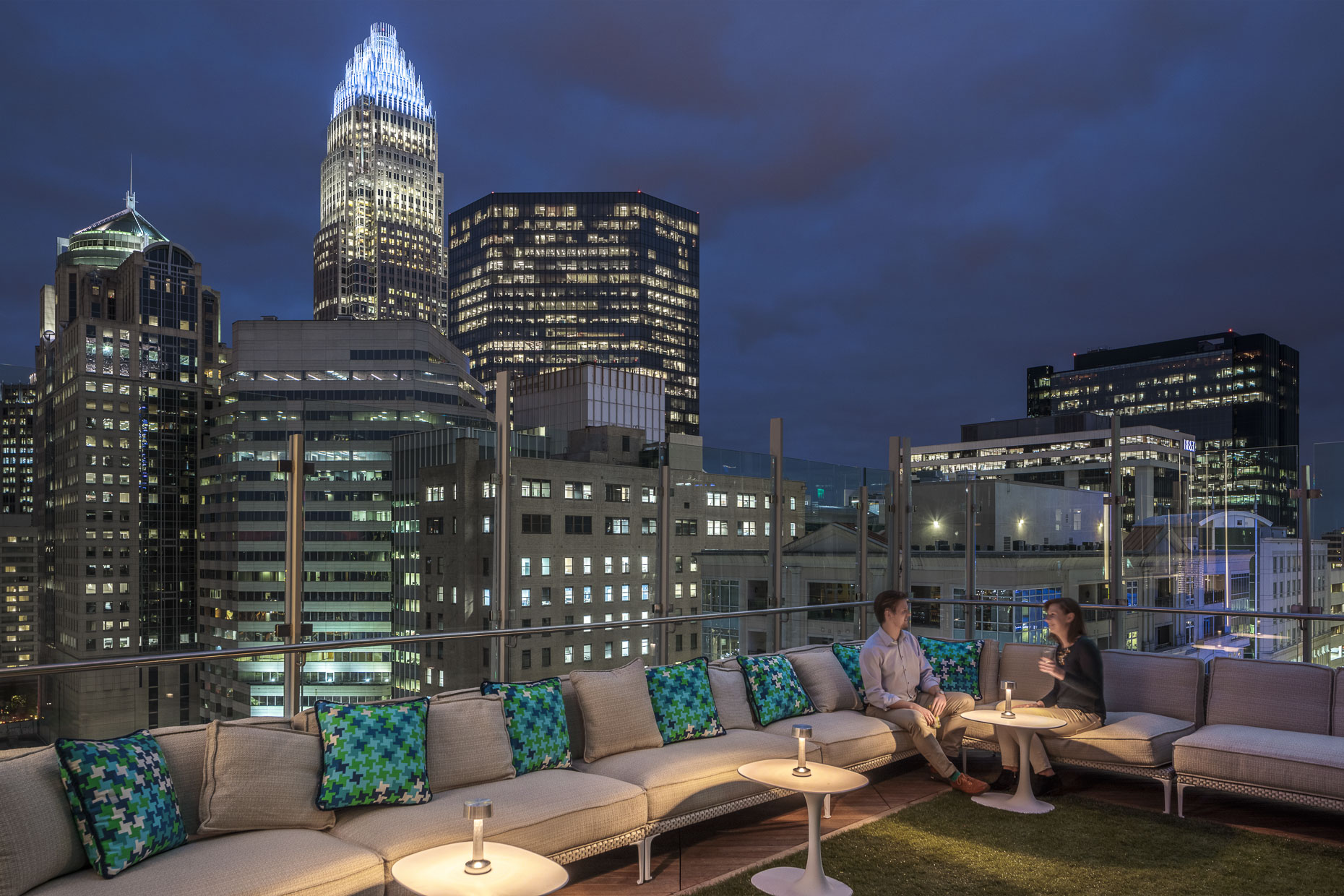 Kimpton Hotel at Tryon Park by Cooper Carry photographed by Brad Feinknopf based in Columbus, Ohio
