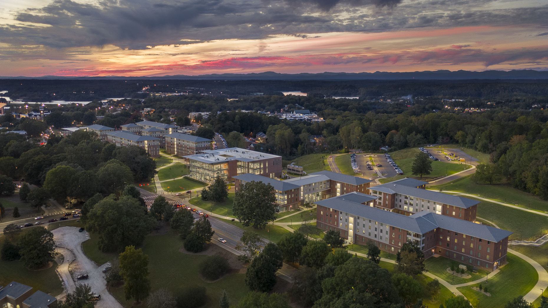 Clemson University Douthit Hills by Ayers Saint Gross photographed by Brad Feinknopf based in Columbus, Ohio