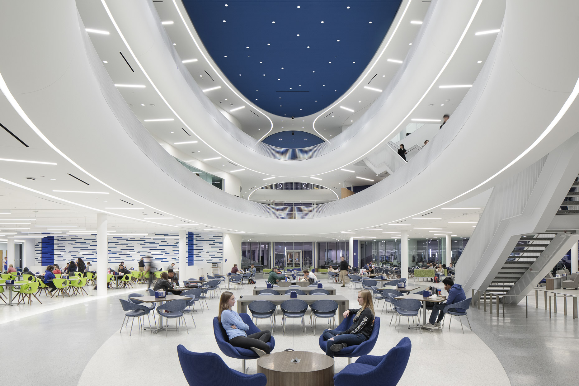 Embry-Riddle Aeronautical University Student Union by Ikon.5 Architects photographed by Brad Feinknopf based in Columbus, Ohio