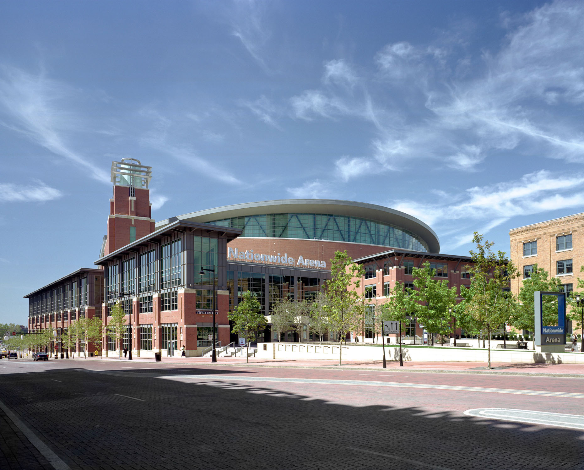 Nationwide Arena by 360 Architecture / HOK photographed by Brad Feinknopf based in Columbus, Ohio