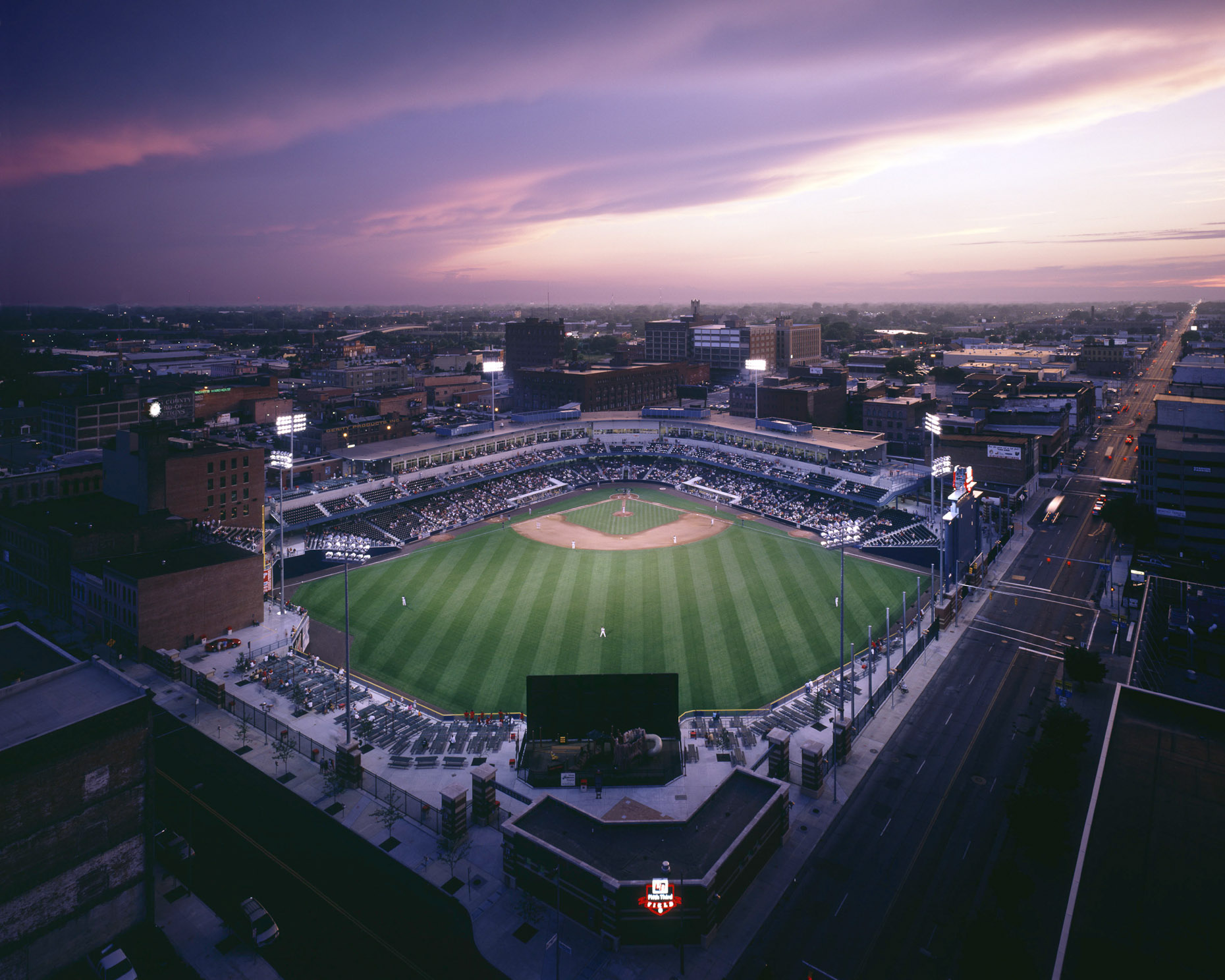 Fifth-Third Field Mud Hens Stadium by HNTB