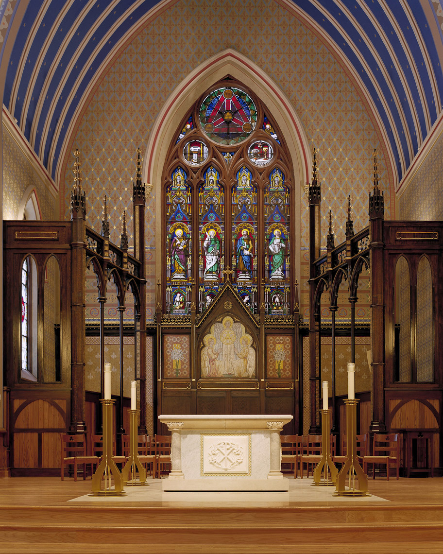 Trinity Episcopal Church by Rogers Krajnak Architects photographed by Brad Feinknopf based in Columbus, Ohio