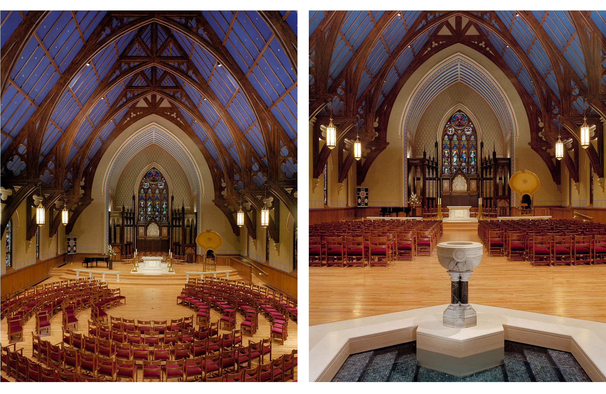 Trinity Episcopal Church by Rogers Krajnak Architects