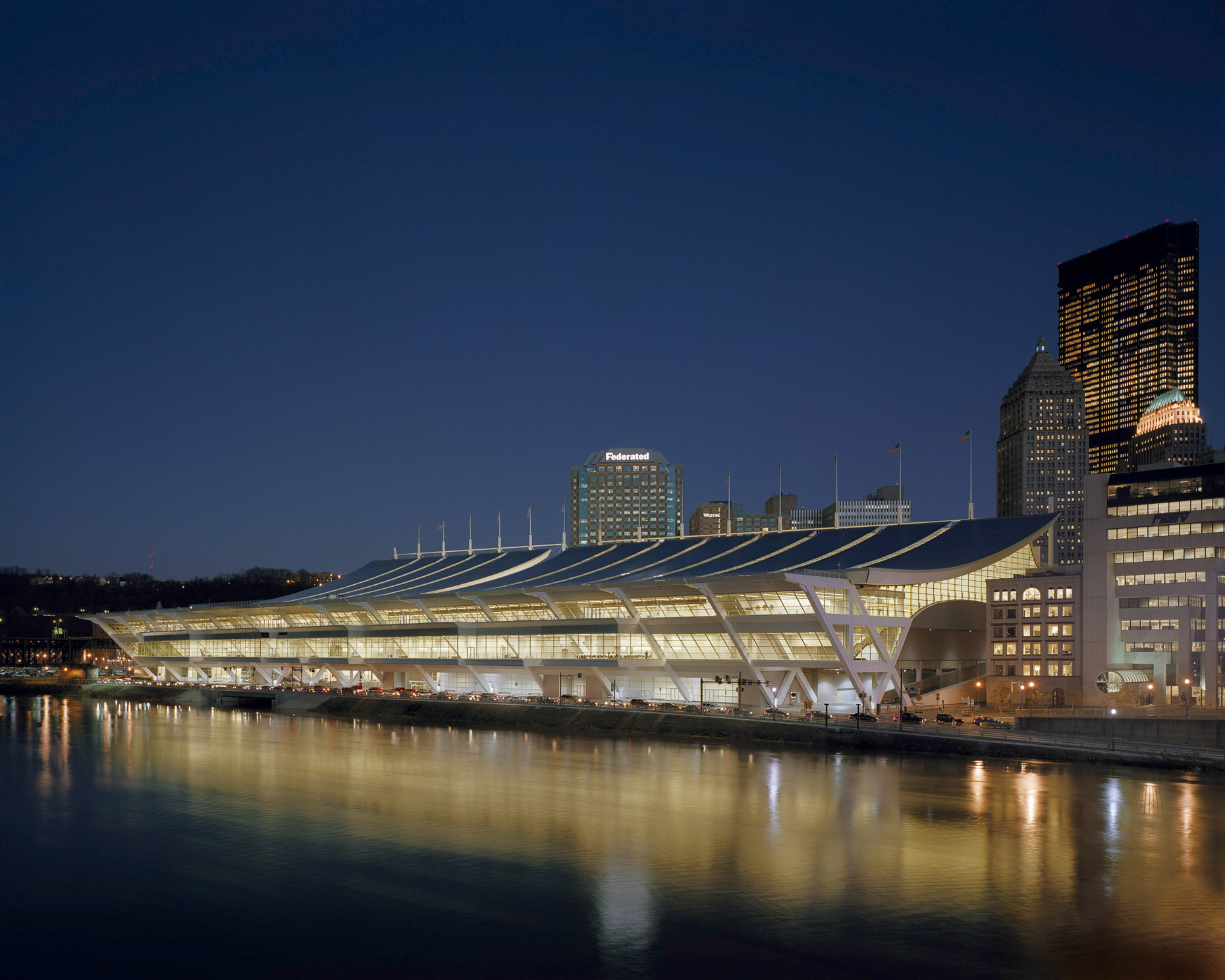 David L Lawrence Convention Center by Rafael Vinoly Architects Photographed by Brad Feinknopf based in Columbus, Ohio
