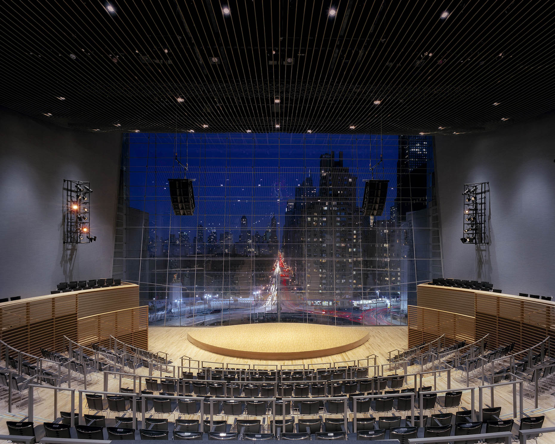 Jazz at Lincoln Center by Rafael Viñoly Architects photographed by Brad Feinknopf based in Columbus, Ohio