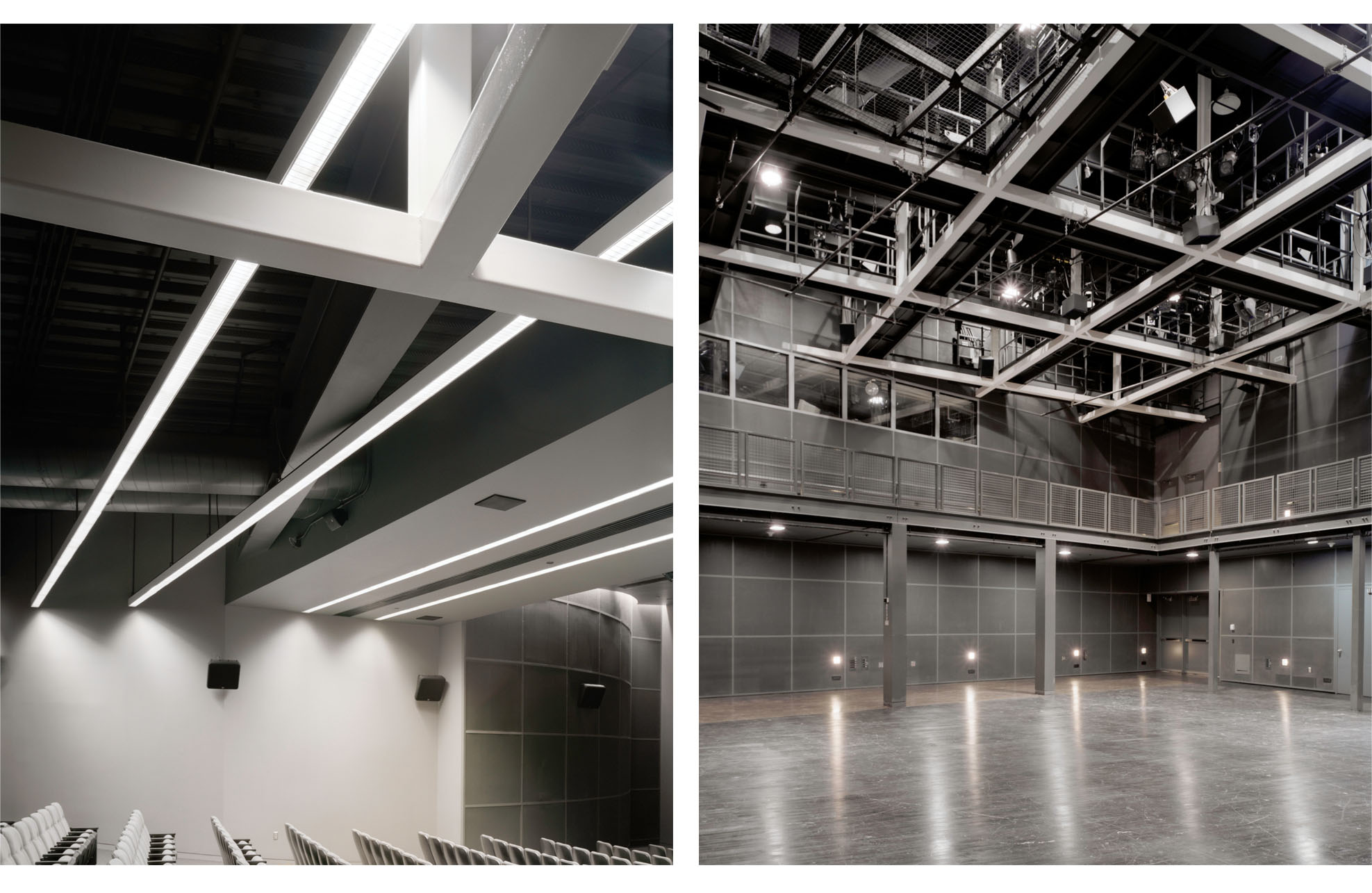 The Performance Space at the Wexner Center for the Arts by Jerome M. Scott Architects