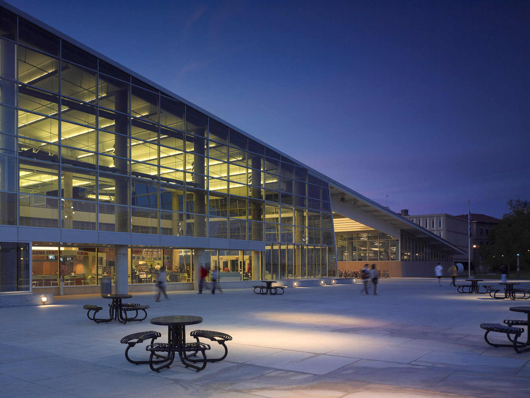 OSU RPAC by Antoine Predock & Moody Nolan photographed by Brad Feinknopf based in Columbus, Ohio