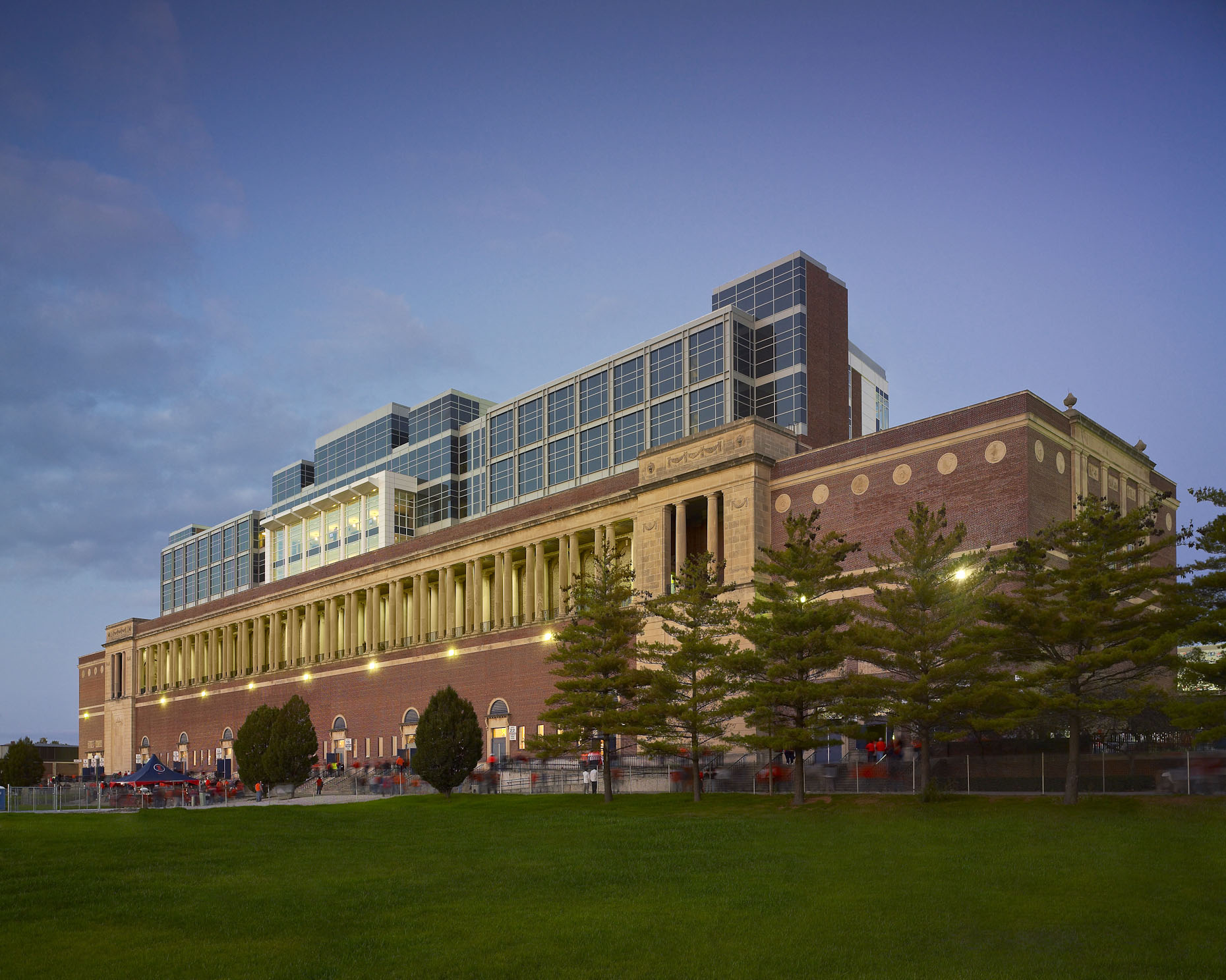 University of Illinois Memorial Stadium by HNTB photographed by BRad Feinknopf based in Columbus, Ohio