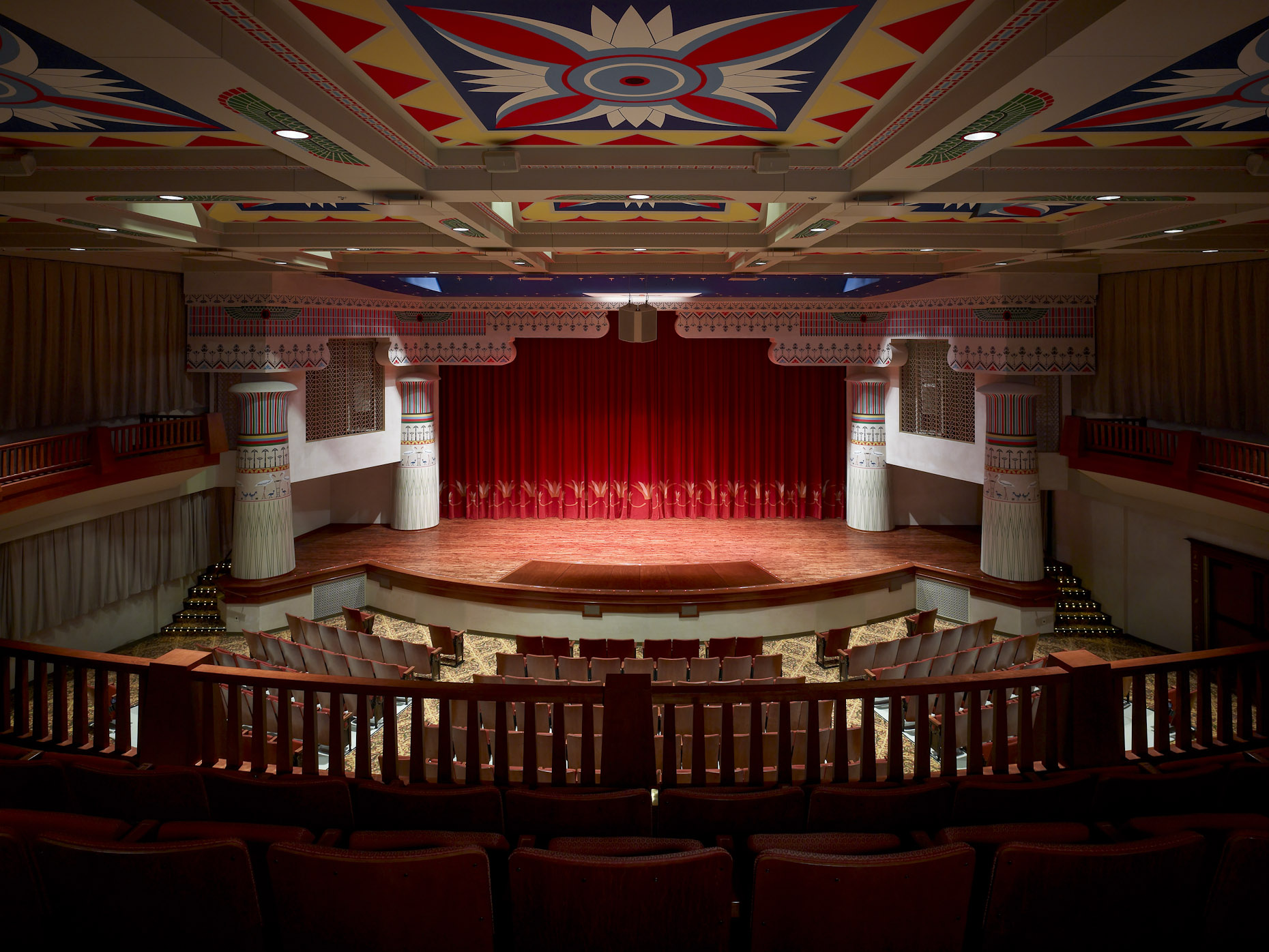 Historic Lincoln Theater for Hardline Design photographed by Brad Feinknopf based in COlumbus, Ohio