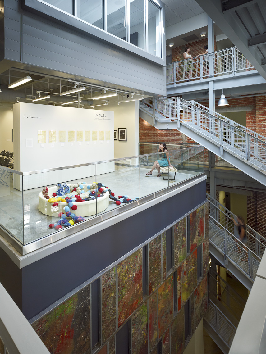 Dennison University Bryant Art Center by Beyer Blinder Belle Photographed by Brad Feinknopf based in Columbus, Ohio