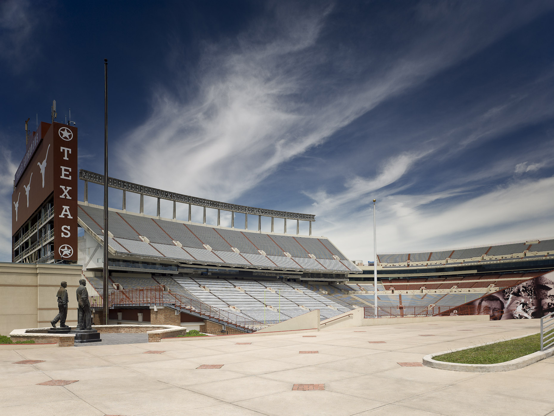 University of Texas at Austin Darrell K Royal Memorial Stadium by Heery International photographed by Brad Feinknopf based in Columbus, Ohio