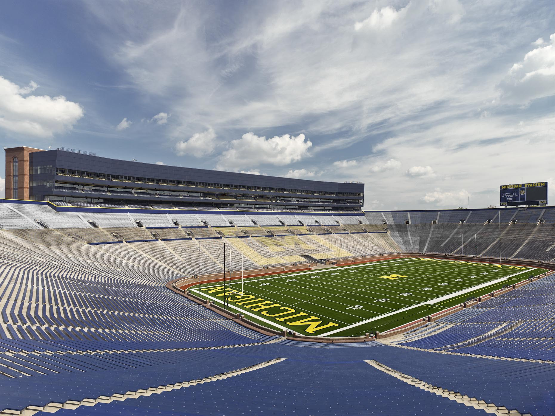 Michigan Stadium at the University of Michigan by HNTB