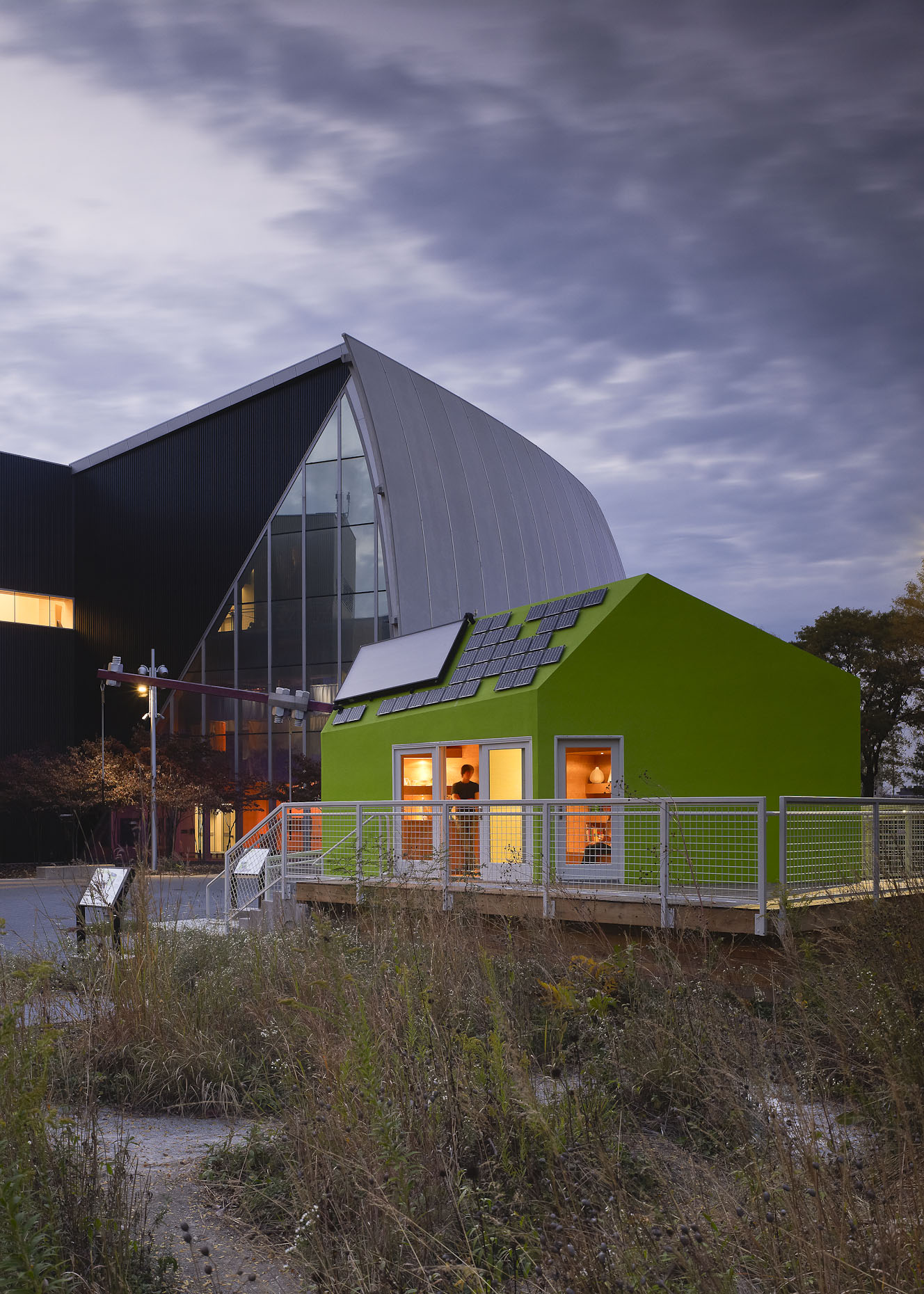 The Pod House at COSI by OSU Faculty Architects