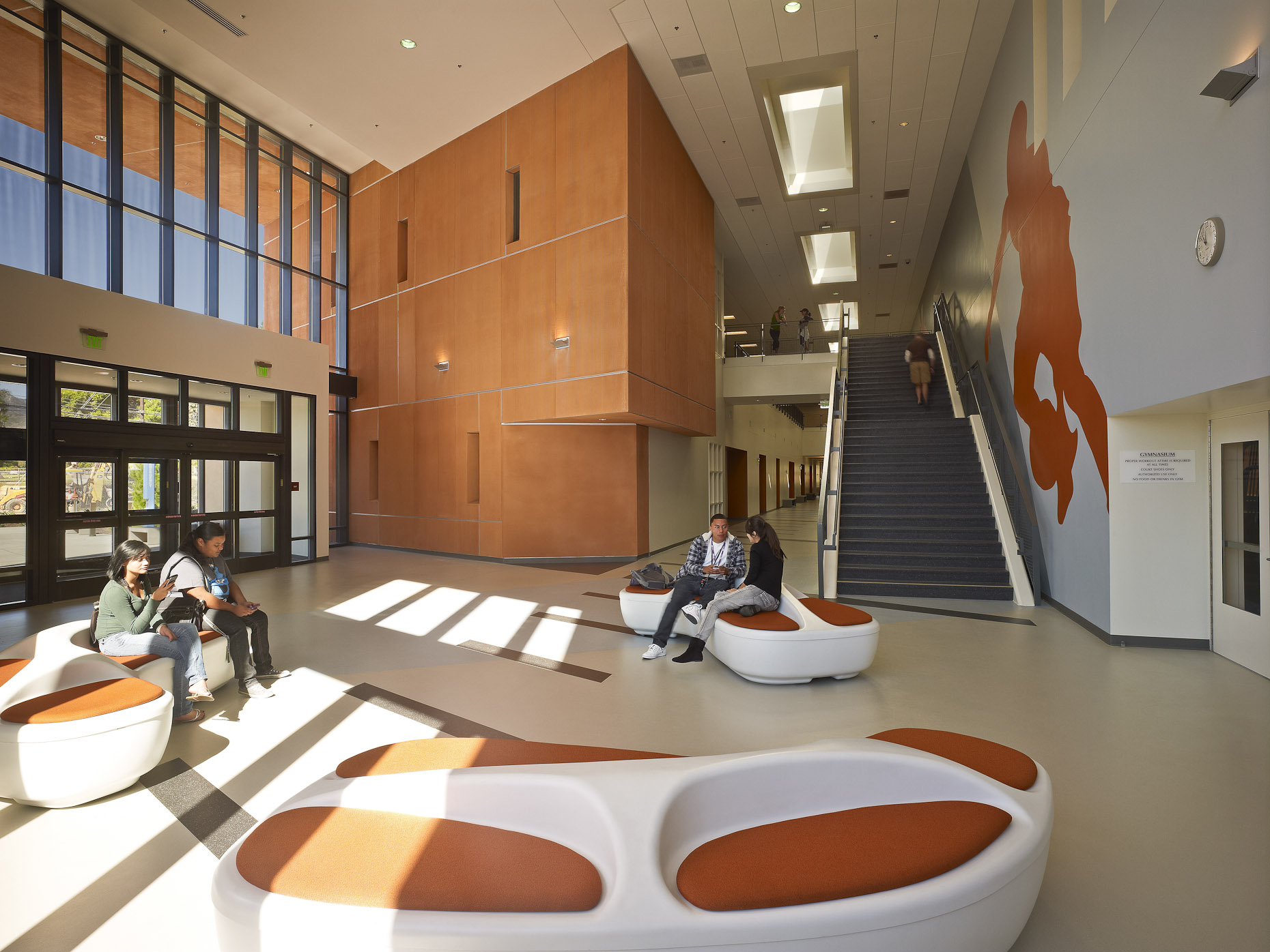 Mission College by Cannon Design Photographed by Brad Feinknopf based in Columbus, Ohio