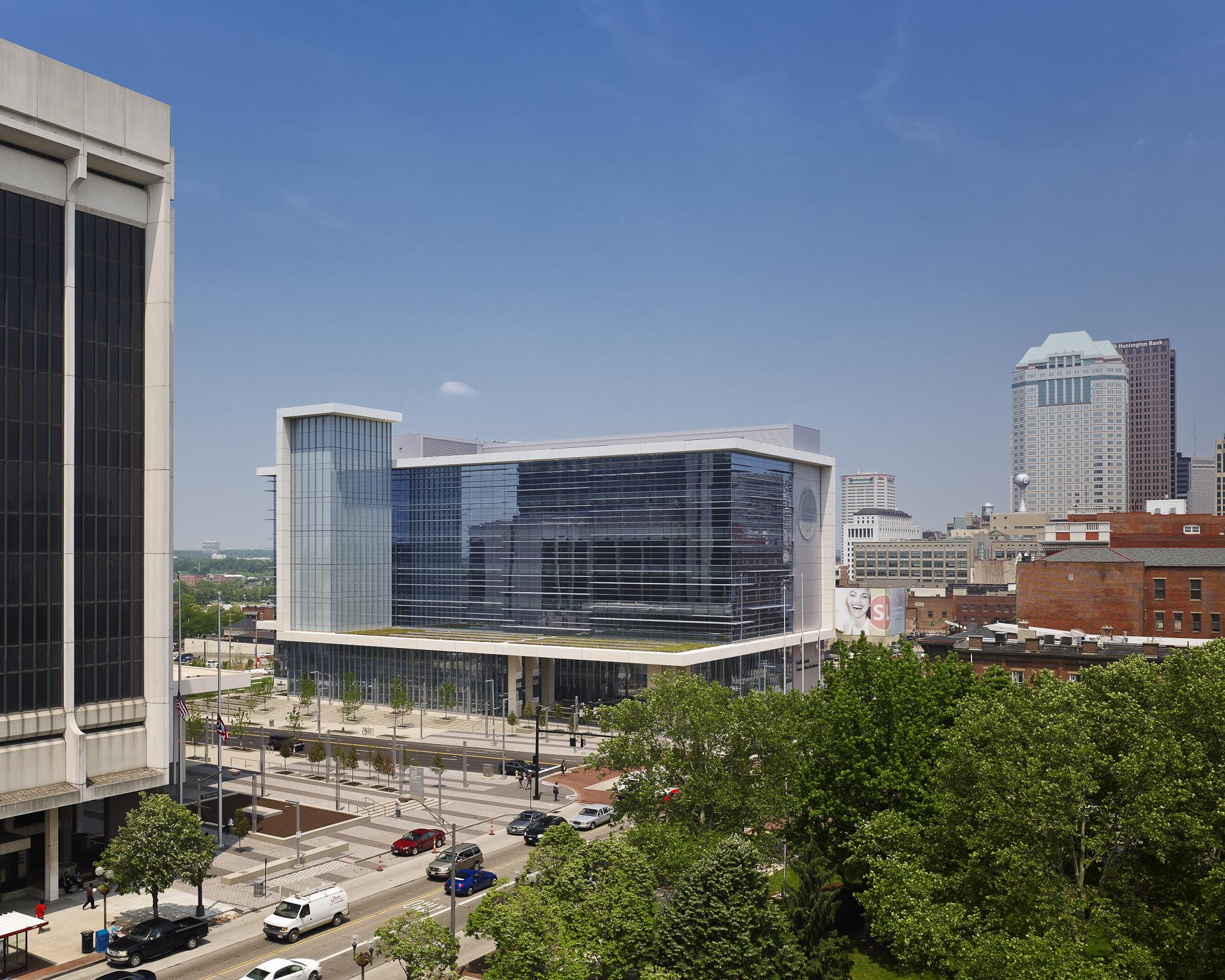 Franklin County Common Pleas Courthouse by Arquitectonica & DesignGroup