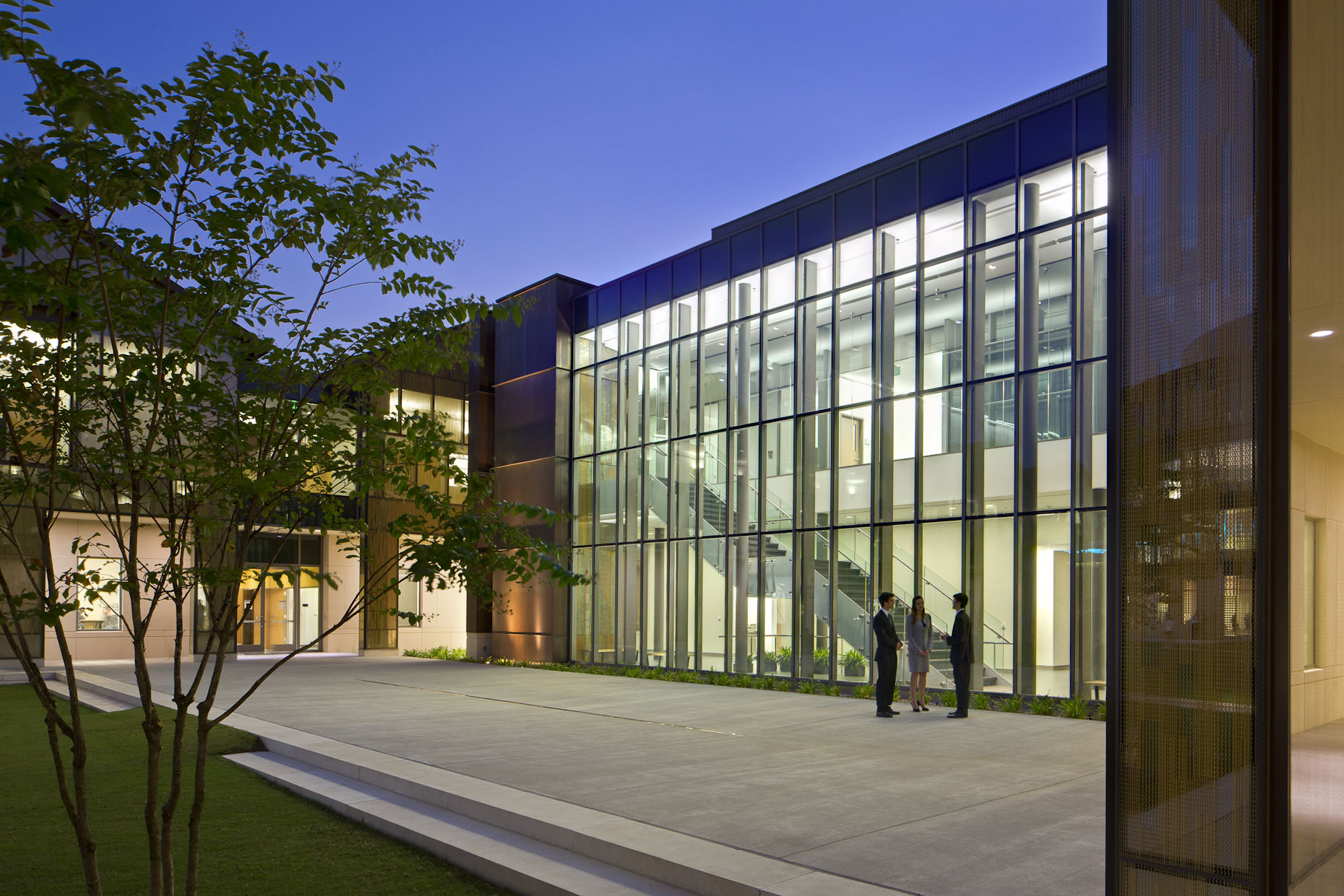 E.J. Ourso College of Business at Louisiana State University by Ikon.5 Architects photographed by Brad Feinknopf based in Columbus, Ohio
