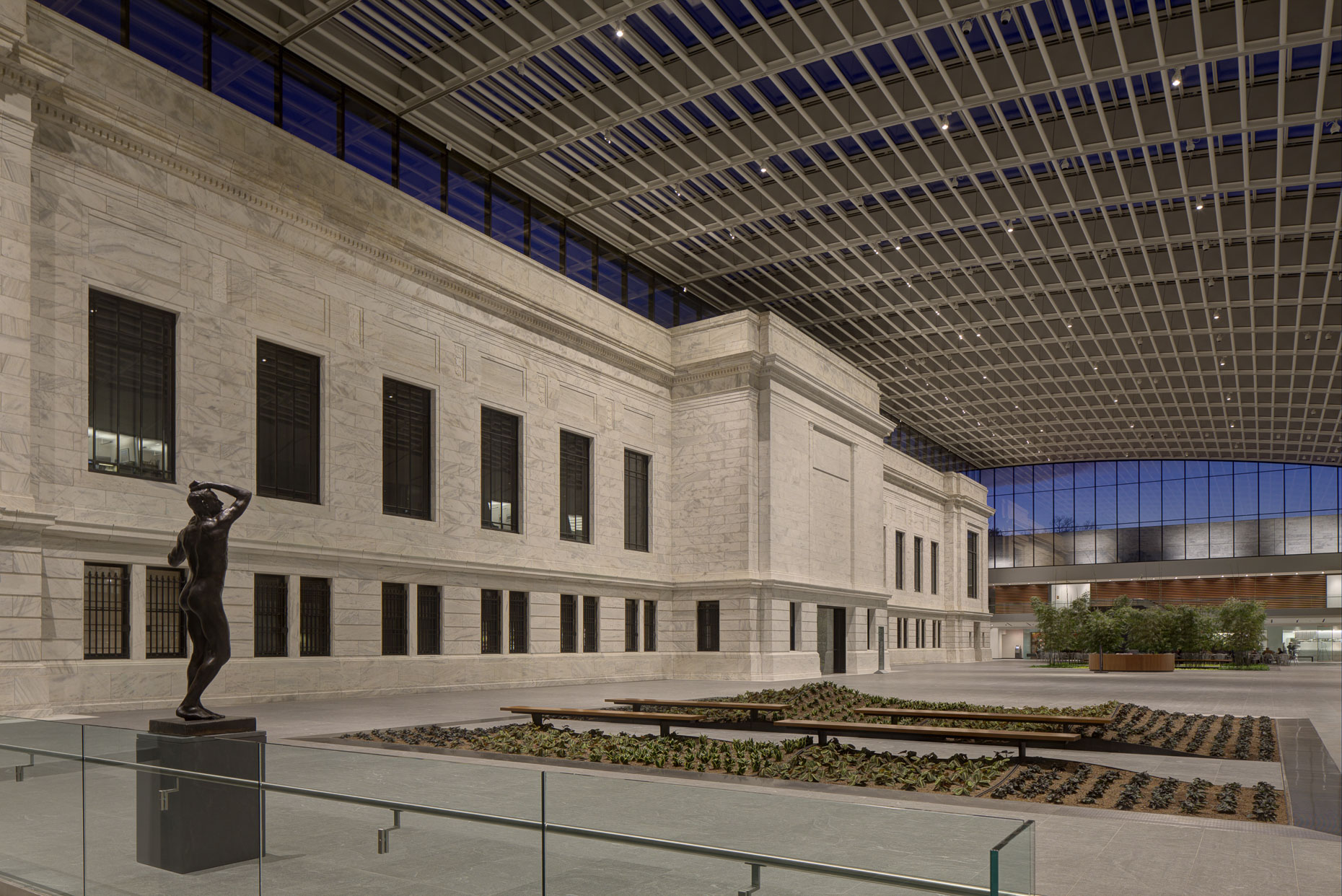 Cleveland Museum of Art Atrium by Rafael Vinoly Architects Photographed by Brad Feinknopf based in Columbus, Ohio