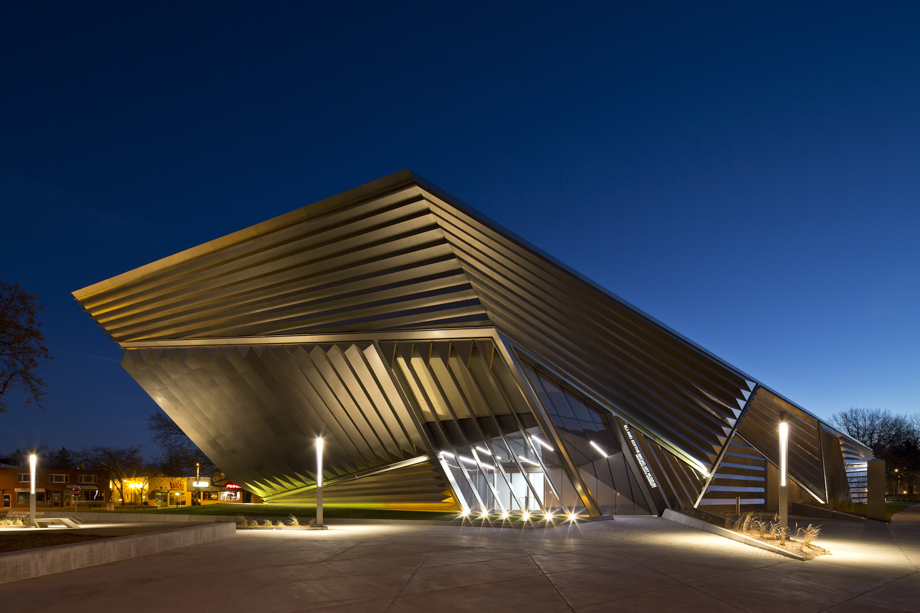 El & Edythe Broad Art Museum at Michigan State University by Zaha Hadid Architects