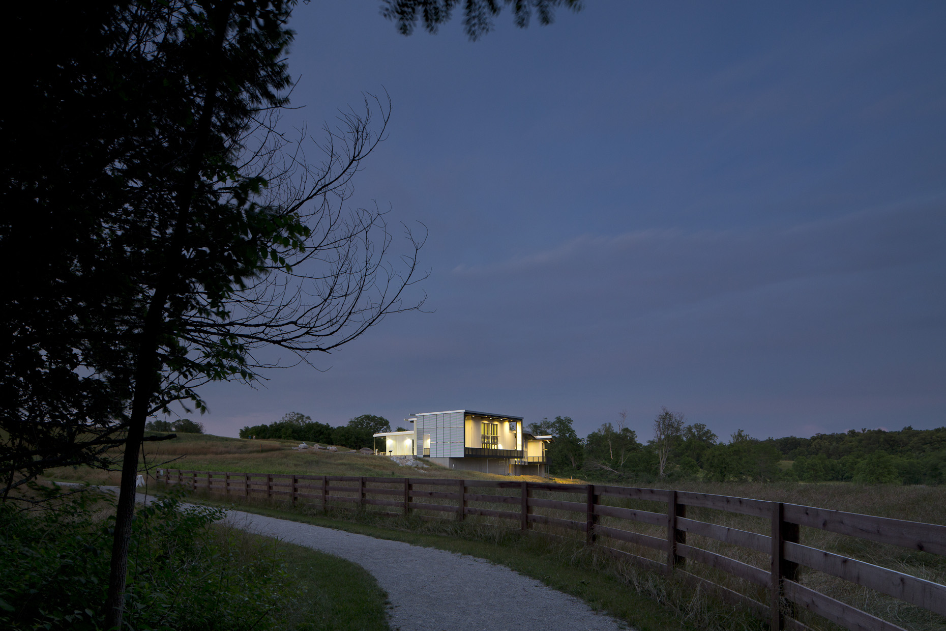 Battelle-Darby Creek Nature Center by DesignGroup photographed by BRad Feinknopf based in Columbus, Ohio