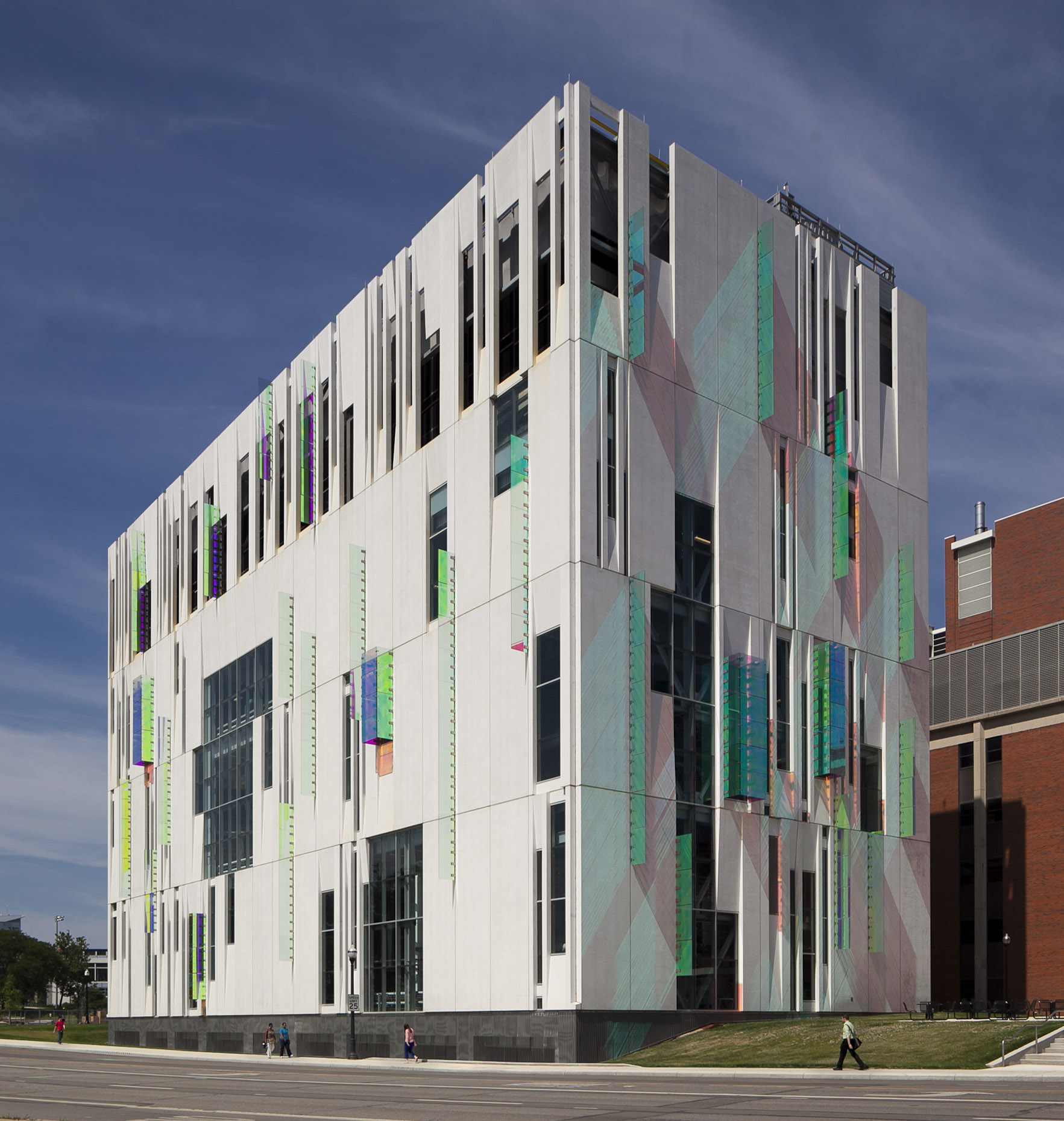 The Ohio State University South Campus Central Chiller Plant by Ross Barney Architects & Champlin Architecture