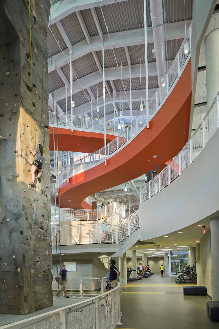 Auburn University Recreation & Wellness Center by 360 Architecture Photographed by Brad Feinknopf based in Columbus, Ohio