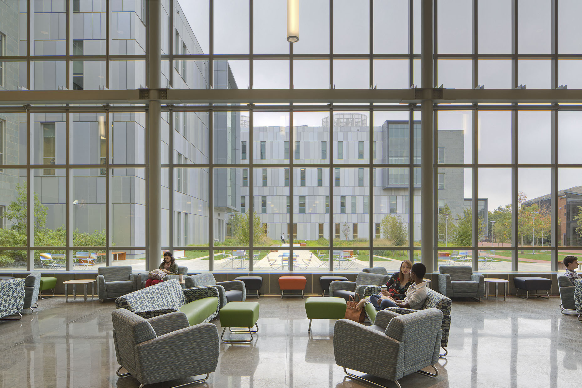 University of Delaware ISE Laboratory by Ayers / Saint / Gross