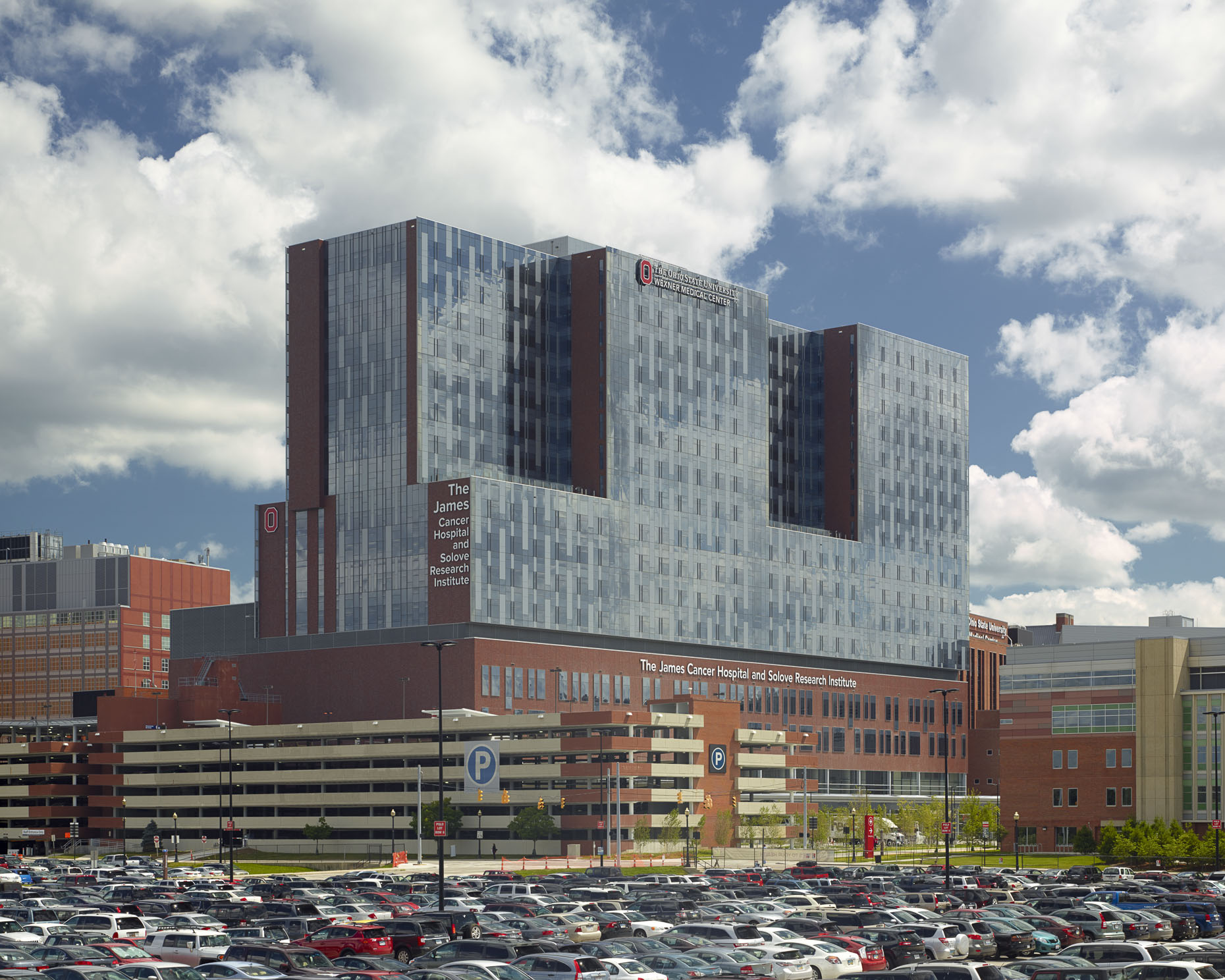 James Cancer Hospital Solove Research Institute At The Ohio - Ohio state architecture