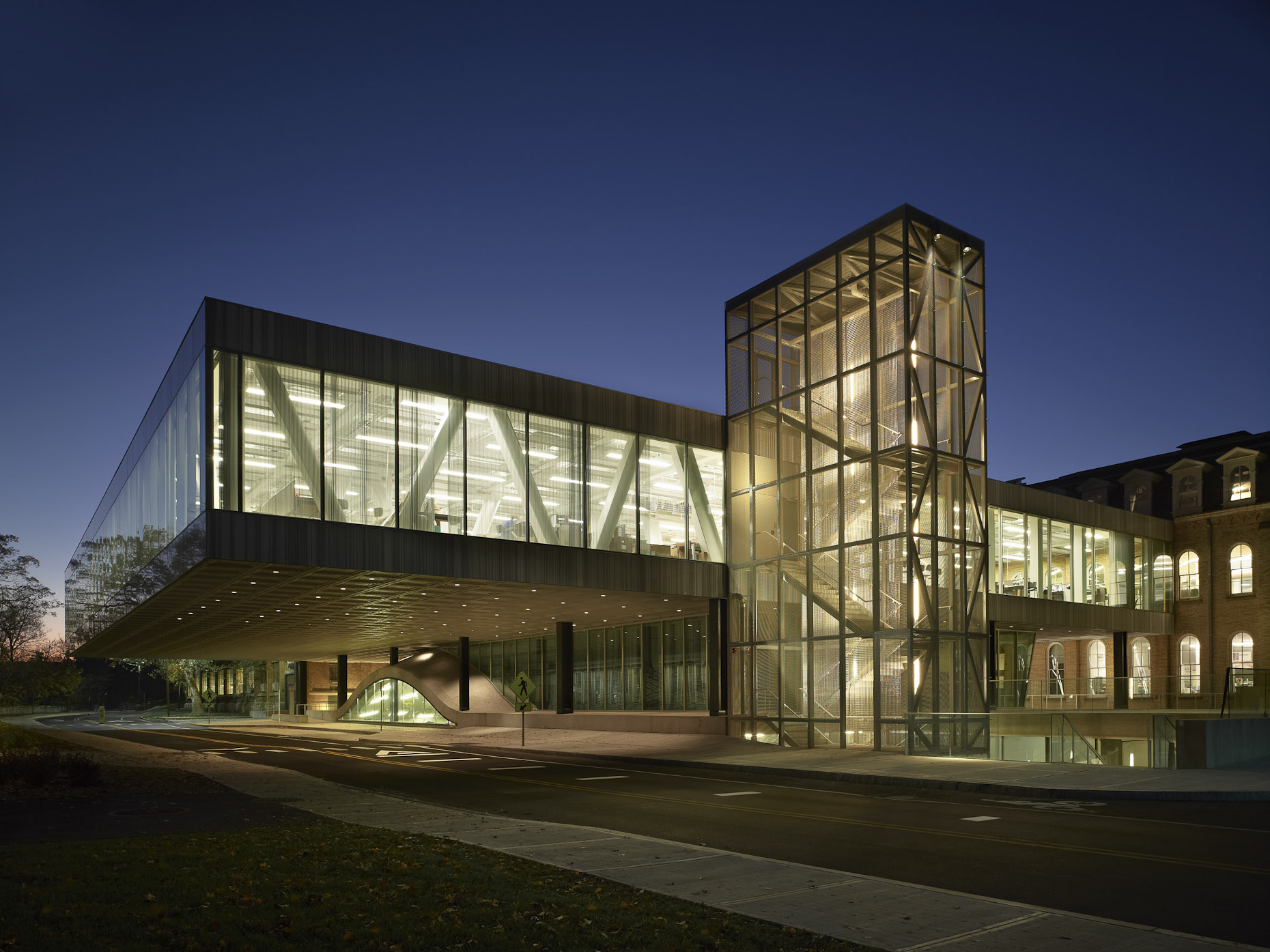 Milstein Hall at Cornell University by OMA Photographed by Brad Feinknopf based in Columbus, Ohio