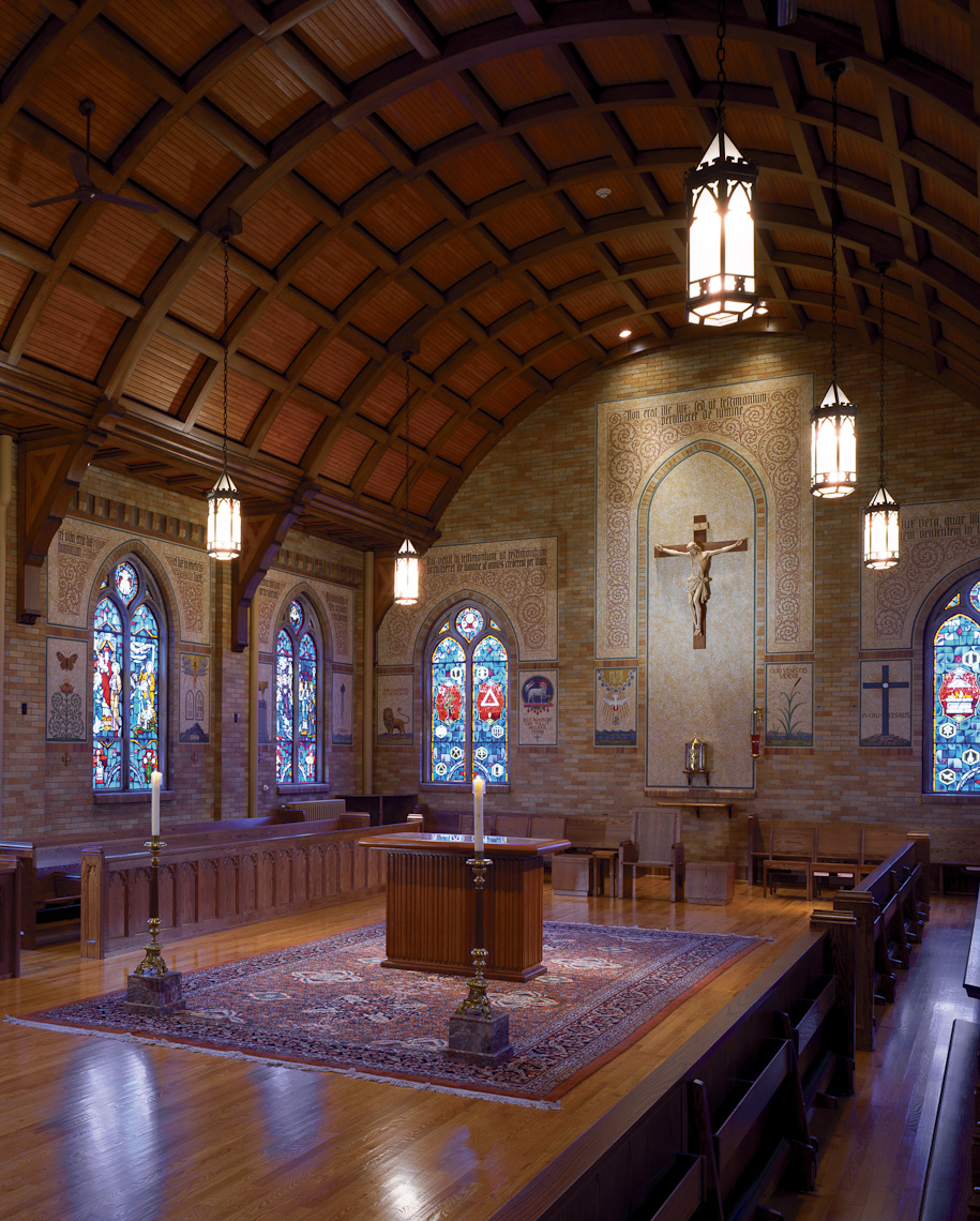 The Pontifical College Josephinum by Corna-Kokosing photographed by Brad Feinknopf based in Columbus, Ohio