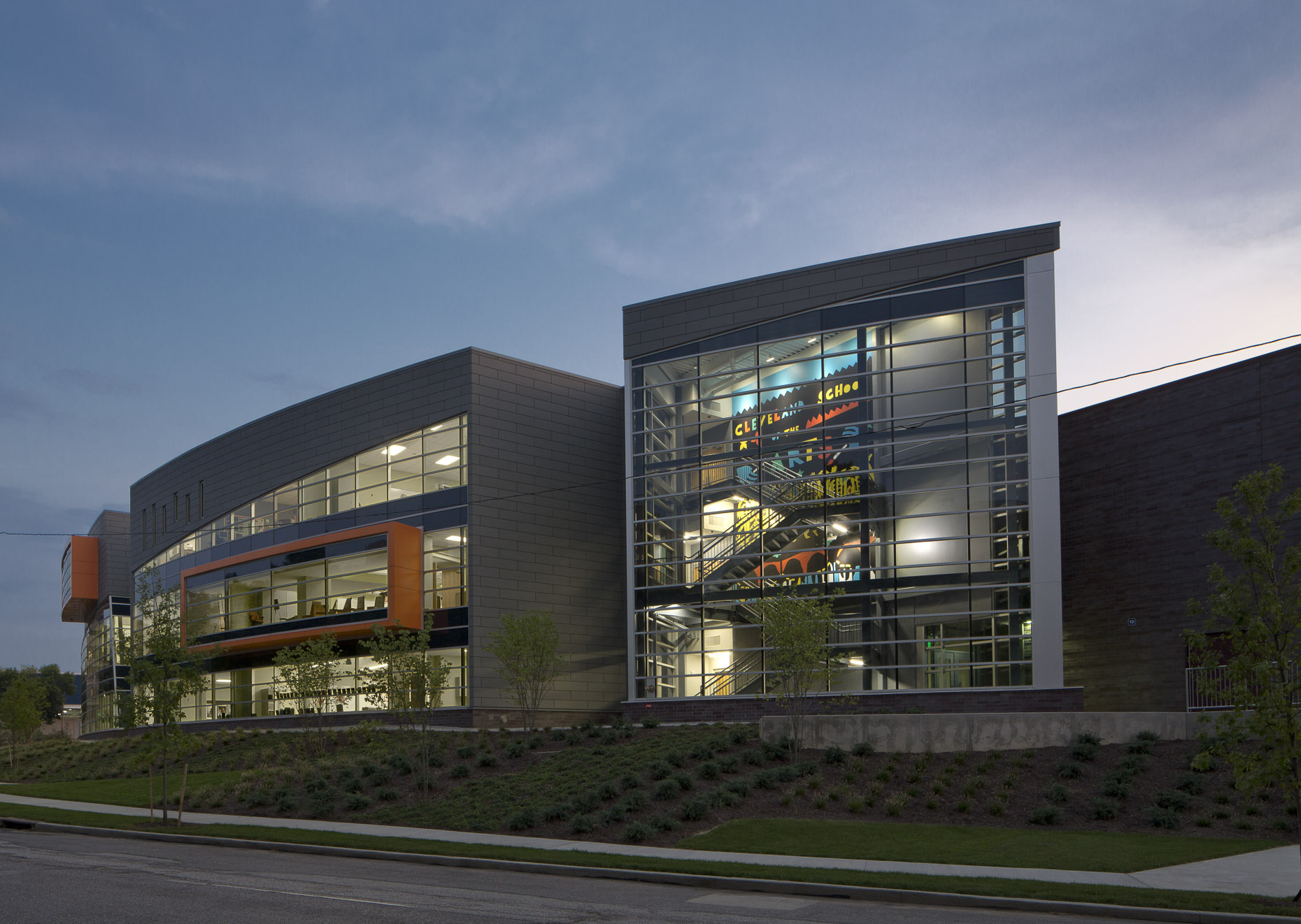 Cleveland School of the Arts by Moody Nolan photographed by Lauren K Davis based in Columbus, Ohio