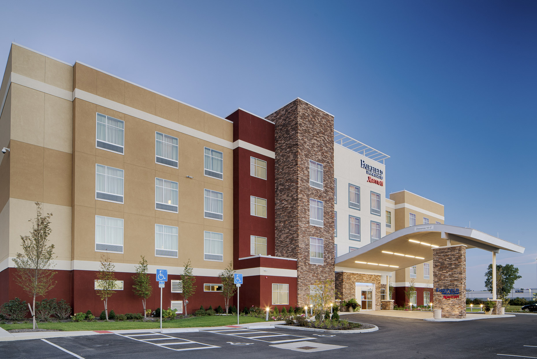 Fairfield Inn & Suites North Columbus - Dublin by Marriott photographed by Lauren K Davis based in Columbus, Ohio