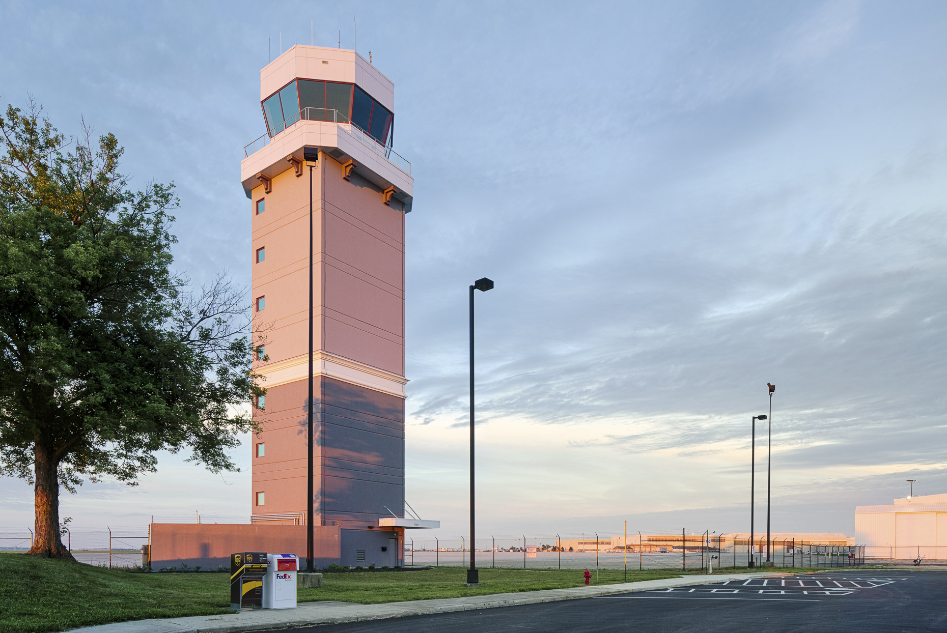 Rickenbacker International Airport ATC Tower by Smoot Construction photographed by Lauren K Davis based in Columbus, Ohio