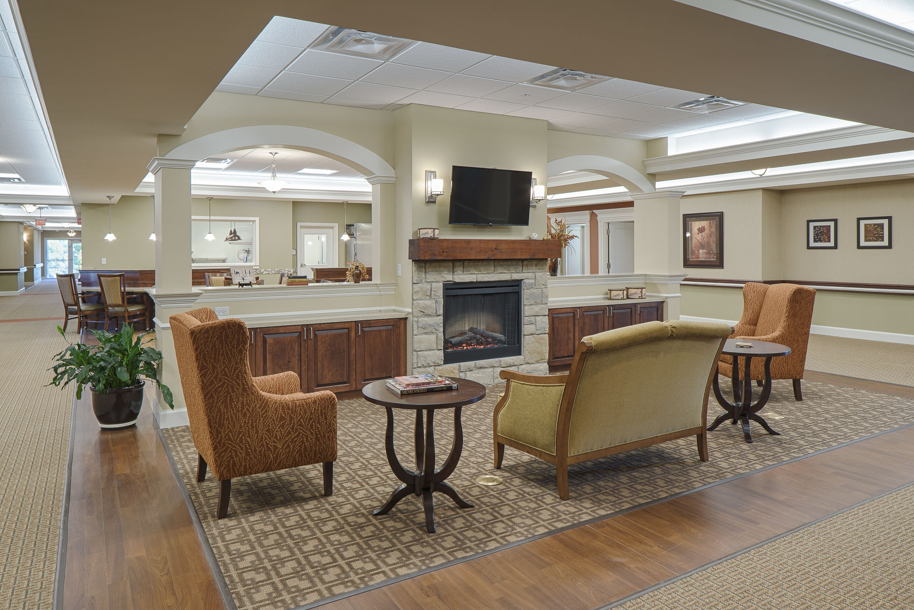 Ohio Eastern Star Nursing Home by Robertson Construction photographed by Lauren K Davis based in Columbus, Ohio