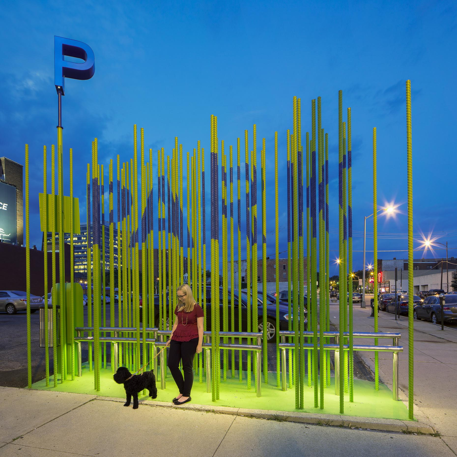 PARKLot at 4th & Main by DesignGroup photographed by Lauren K Davis based in Columbus, Ohio
