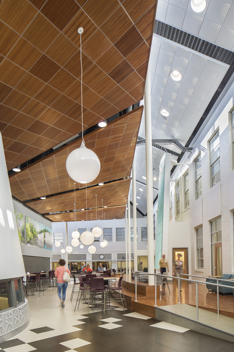 Rocky River High School by Stantec photographed by Lauren K Davis based in Columbus, Ohio