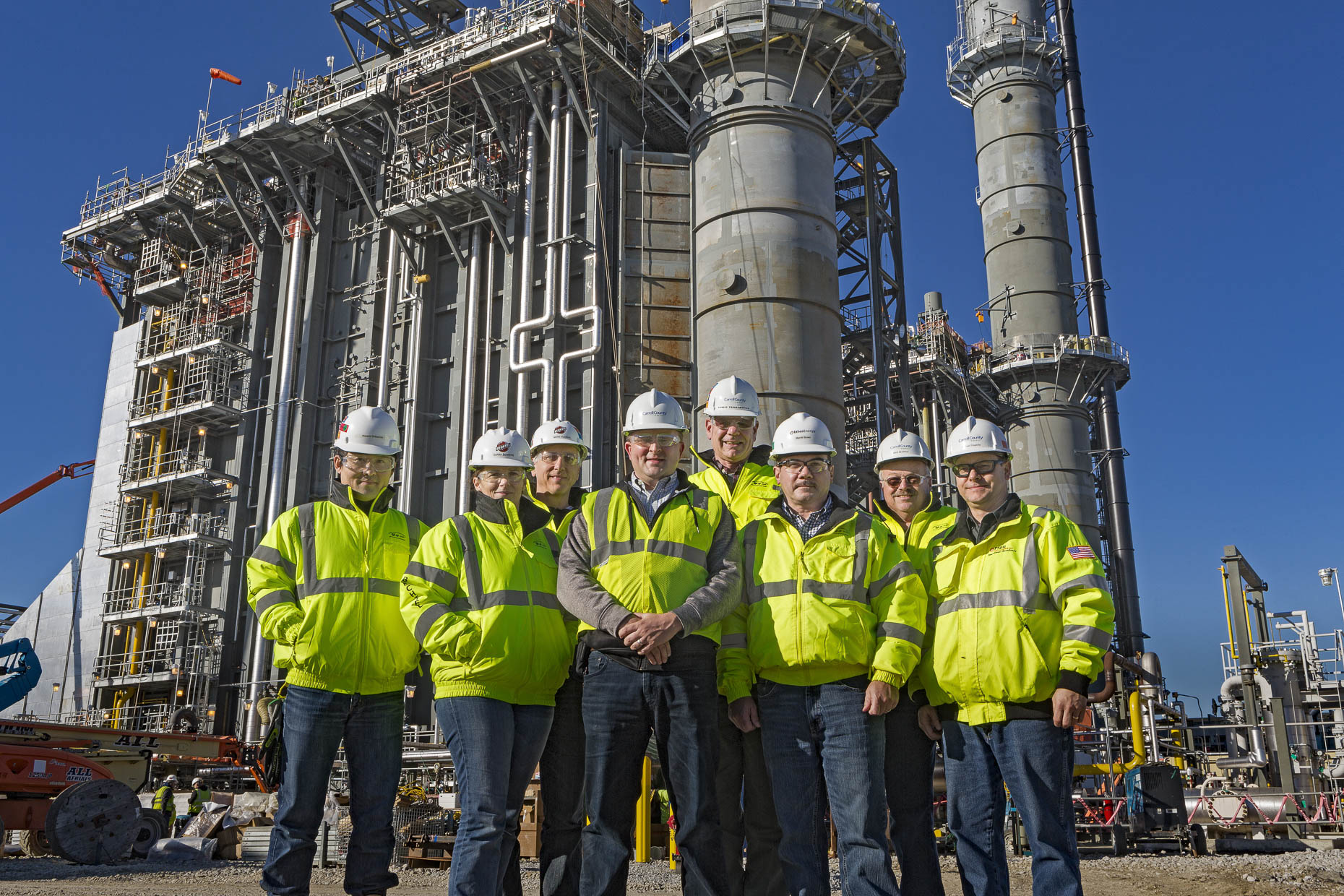Advanced Power Owners at the Carroll County Energy Plant photographed by Lauren K Davis