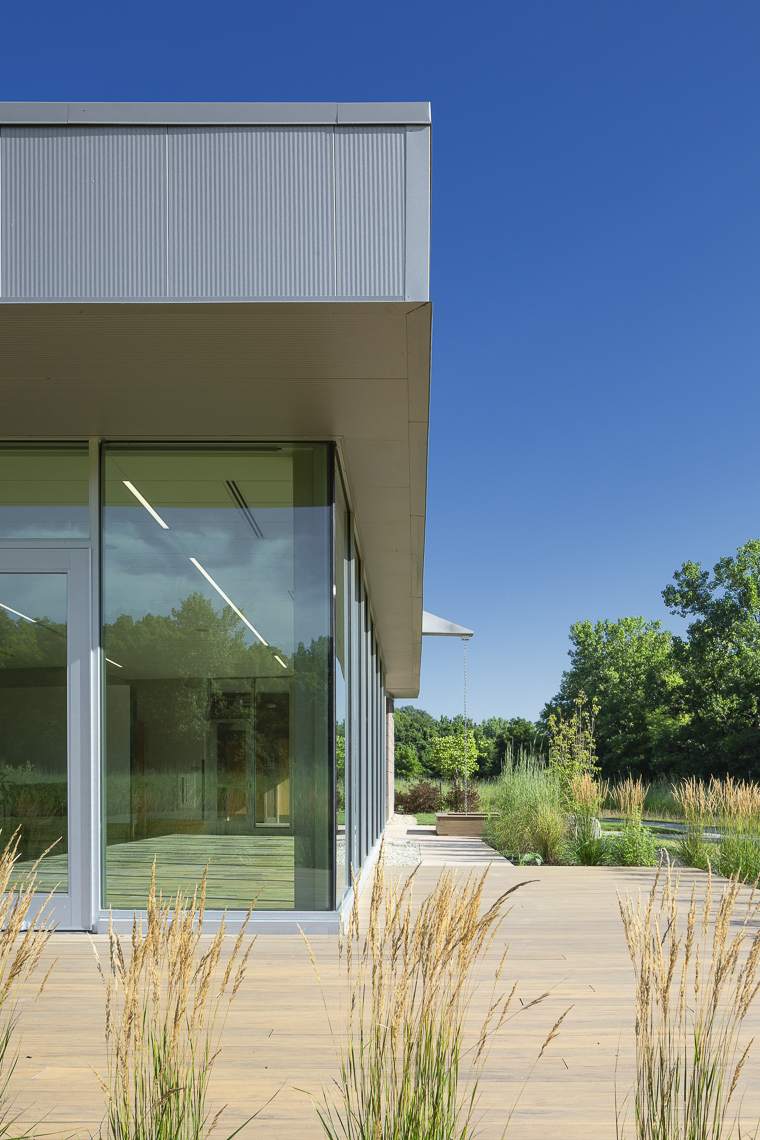 The Grove Lodge at Scioto Grove Metro Park by Paros Architecture & Design photographed by Lauren K Davis based in Columbus, Ohio