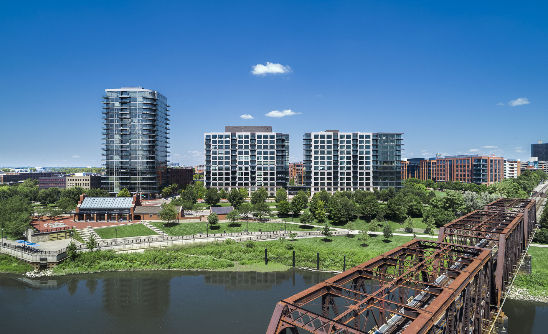 Parks Edge Condominiums by Nationwide Reality Investors photographed by Lauren K Davis based in Columbus, Ohio