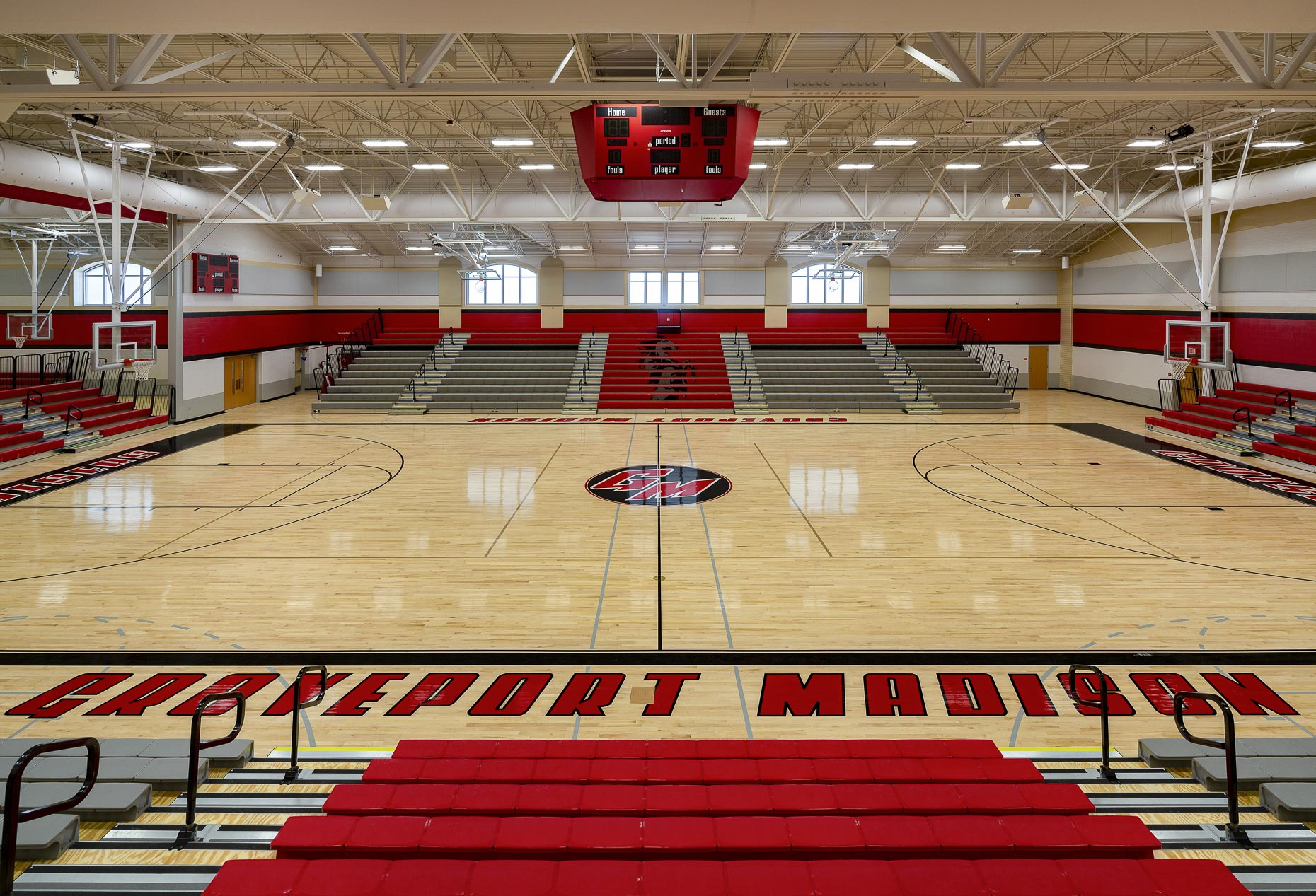 Groveport Madison High School by VSWC & Smoot Construction photographed by Lauren K Davis based in Columbus, Ohio
