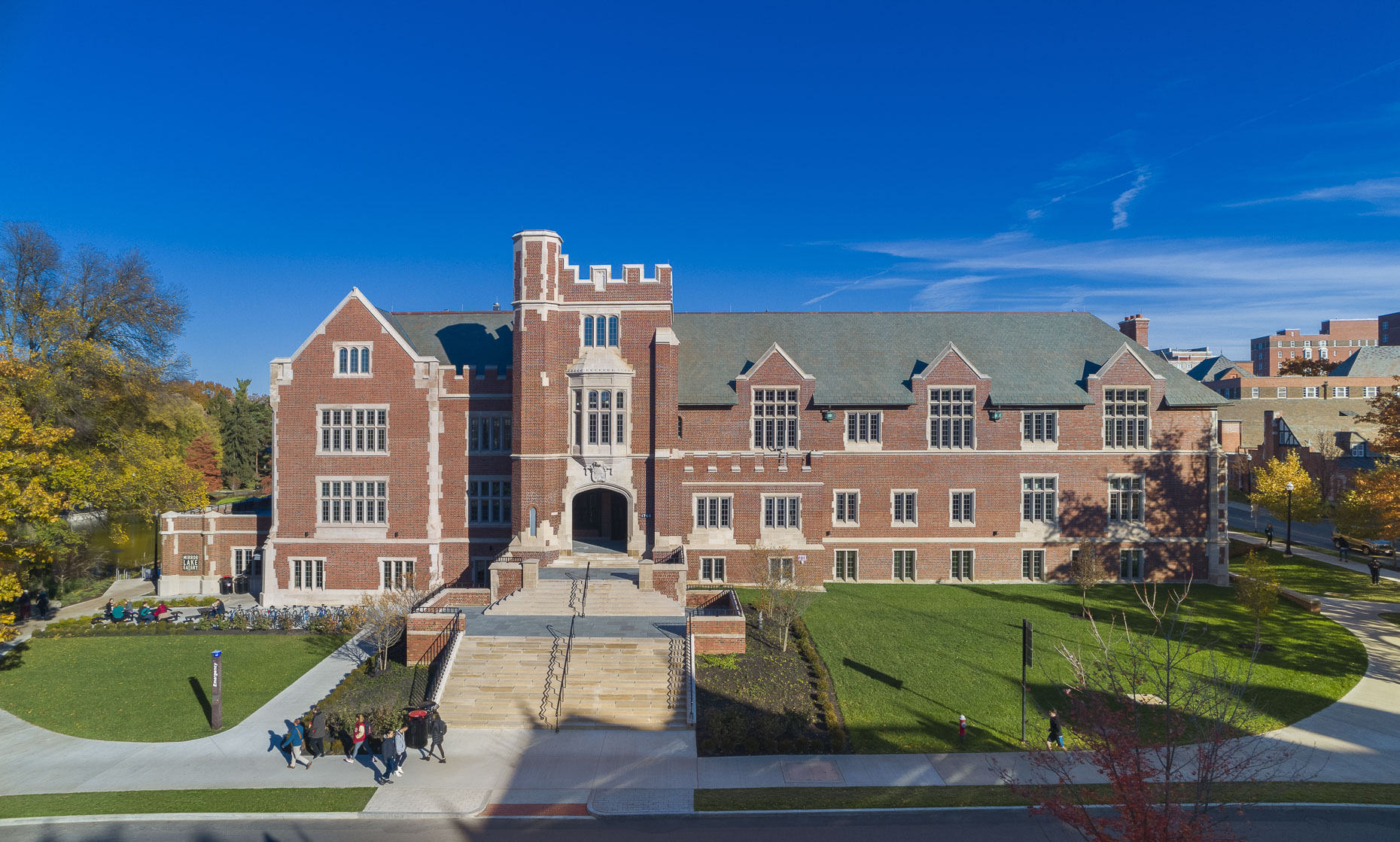 OSU Pomerene Hall Renovation by Acock Associates Architects photographed by Lauren K Davis based in Columbus, Ohio